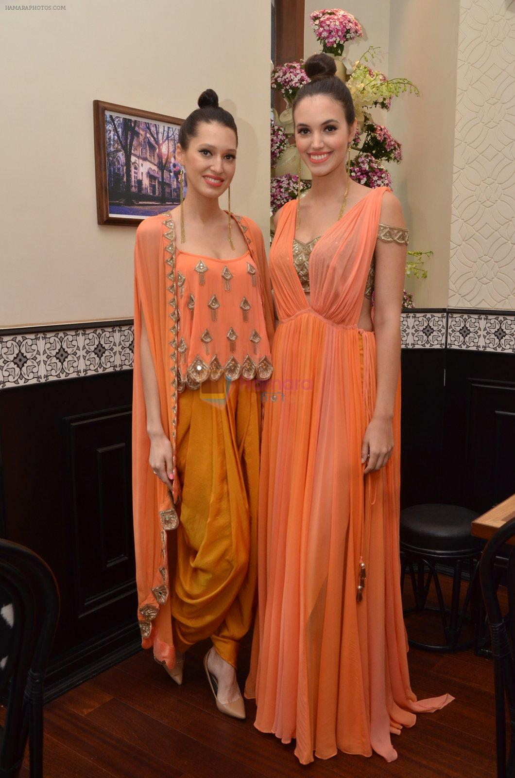 at Arpita Mehta's fashion preview in Le15 Cafe Colaba on 1st March 2016