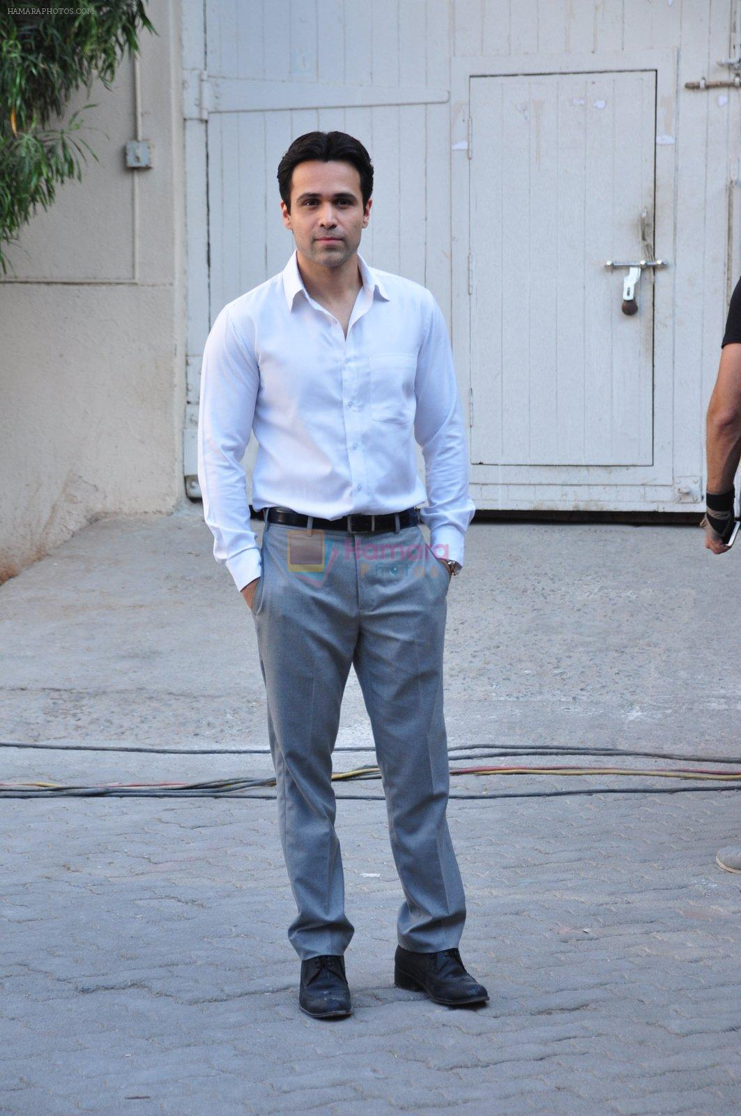 Emraan Hashmi snapped at Azhar photoshoot on 17th March 2016