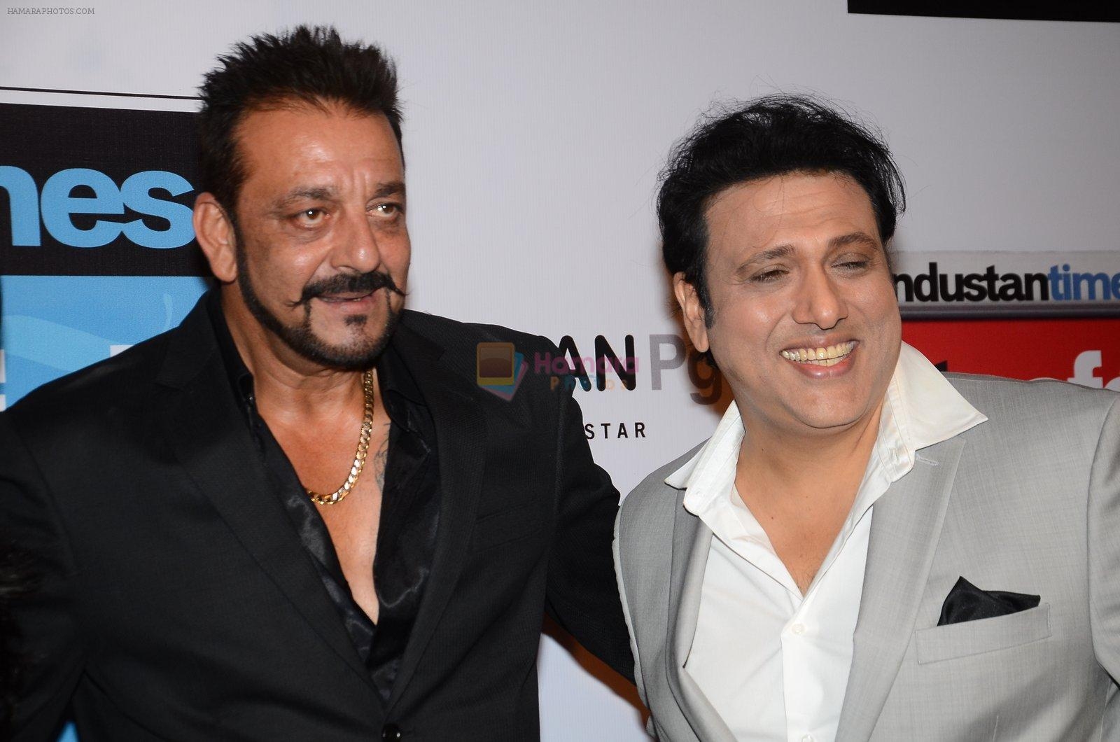 Sanjay Dutt, Govinda at HT Most Stylish on 20th March 2016 ...