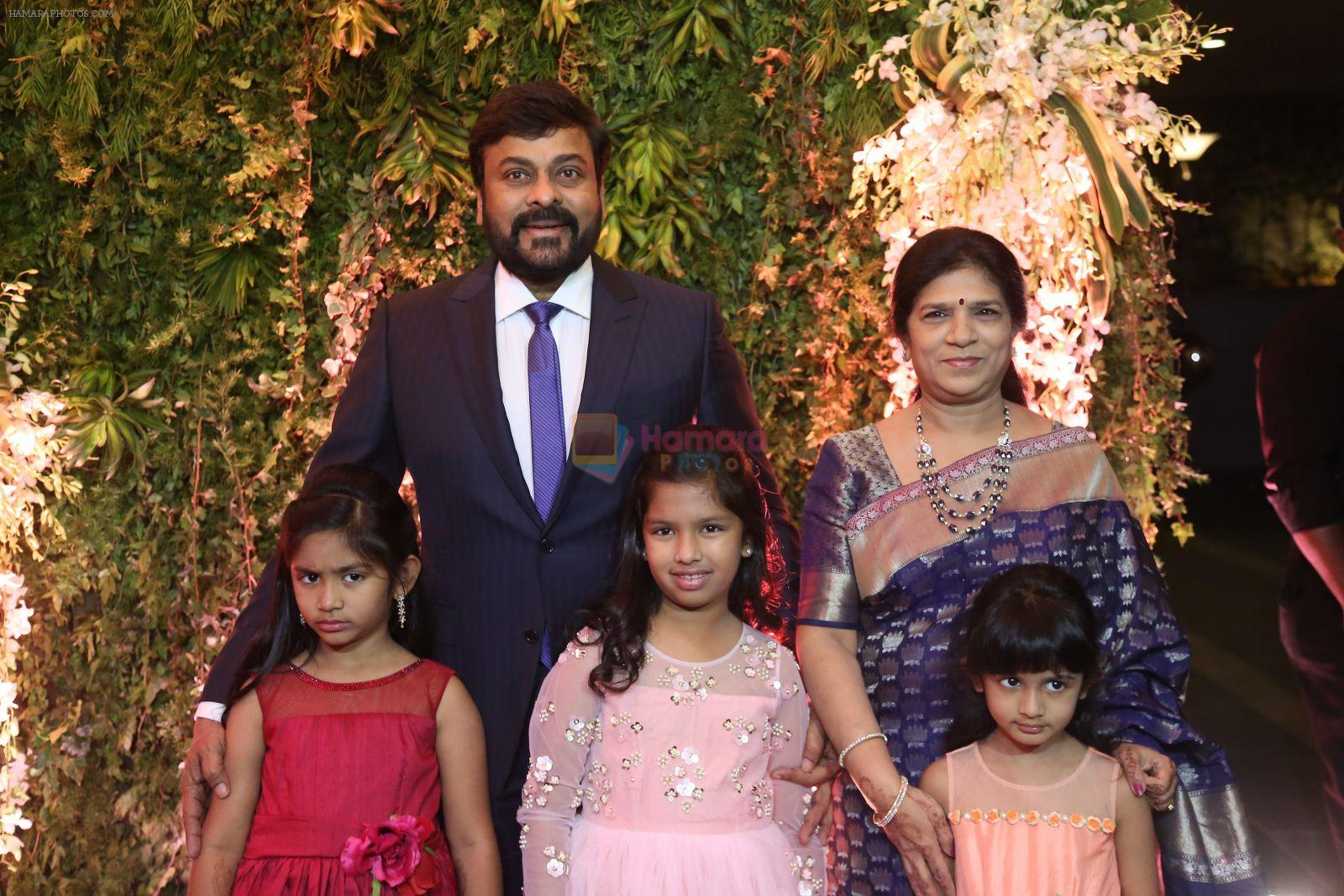 Chiranjeevi's daughter Sreeja's wedding reception on 31st March 2016