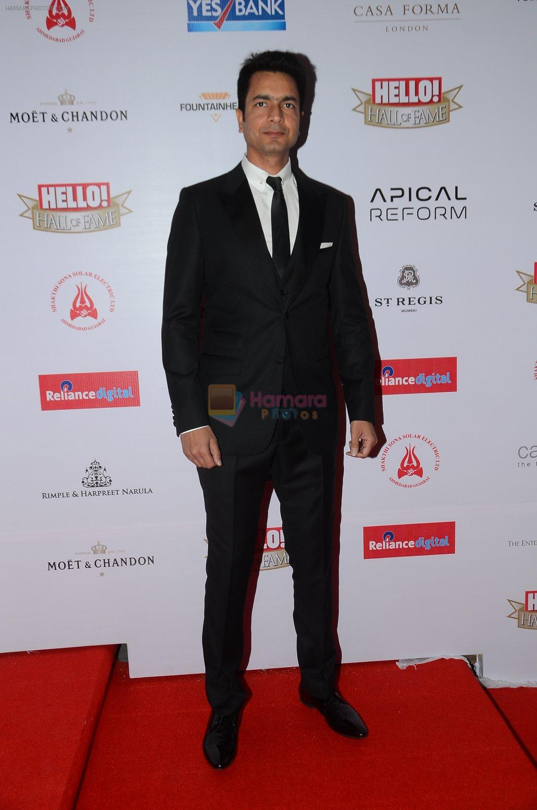 at Hello Hall of Fame Awards 2016 on 11th April 2016