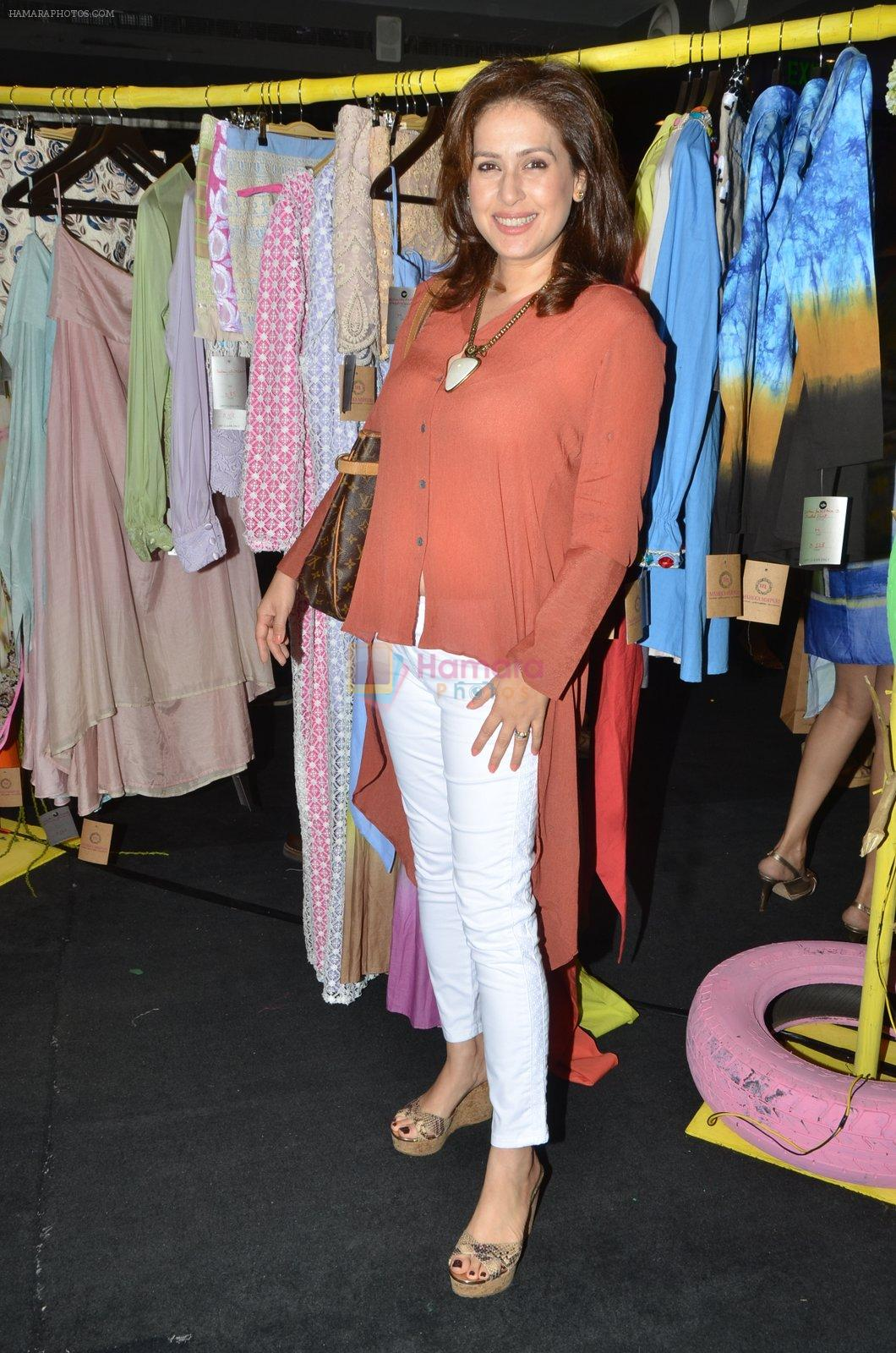 Amrita Raichand at Maheka Mirpuri preview in Mumbai on 21st April 2016