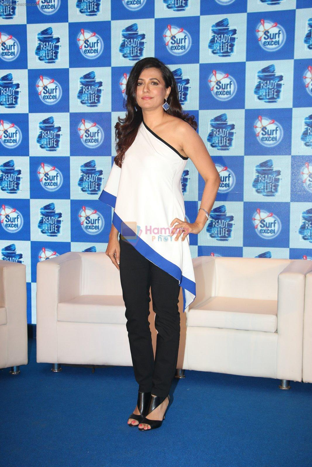 Mini Mathur at Surf Excel promotions on 21st April 2016