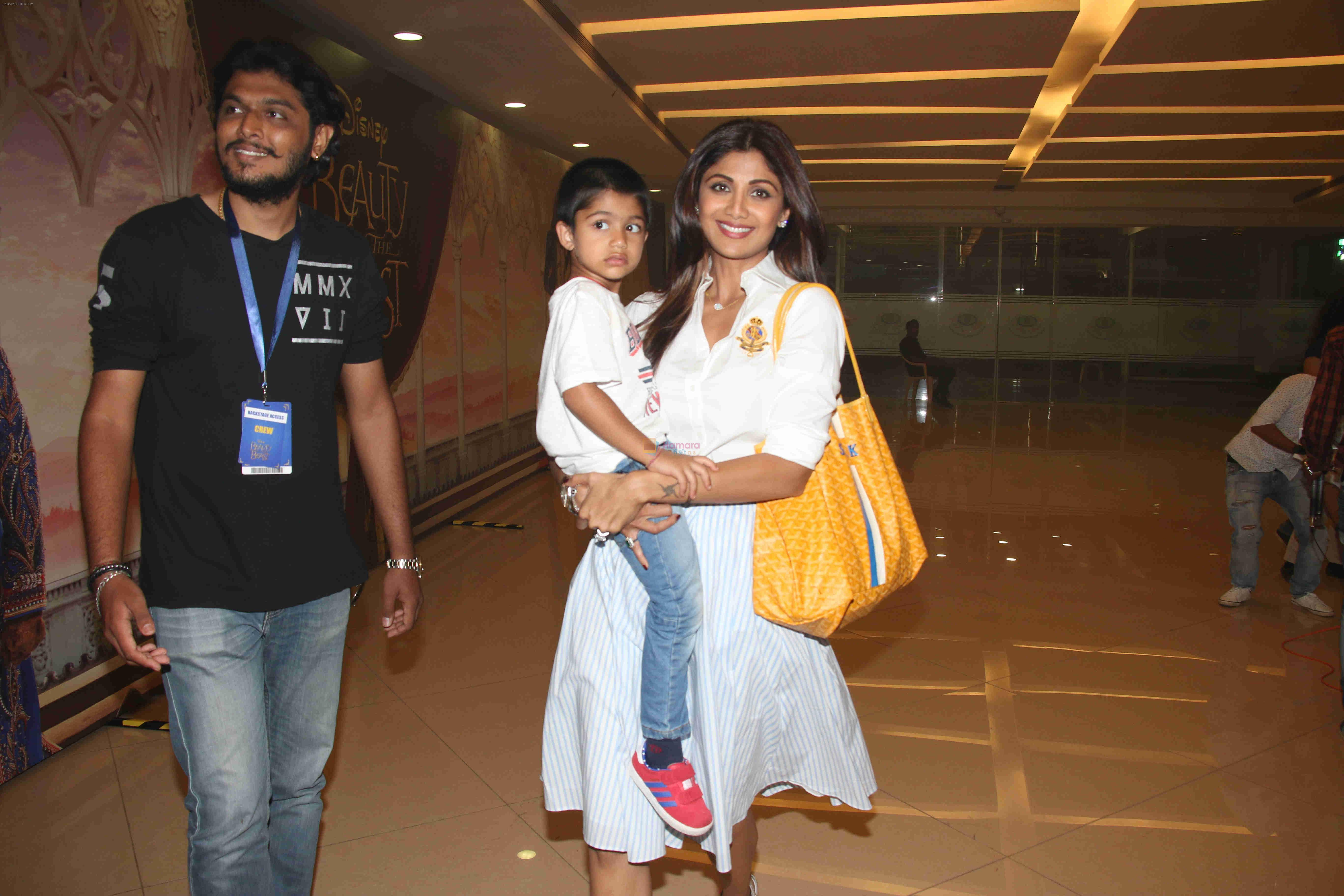 Shilpa Shetty at Beauty and Beast screening on 8th May 2016