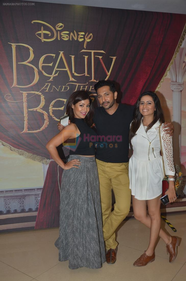 Debina Banerjee, Sargun Mehta, Terence Lewis  at Beauty and Beast screening in Mumbai on 15th May 2016