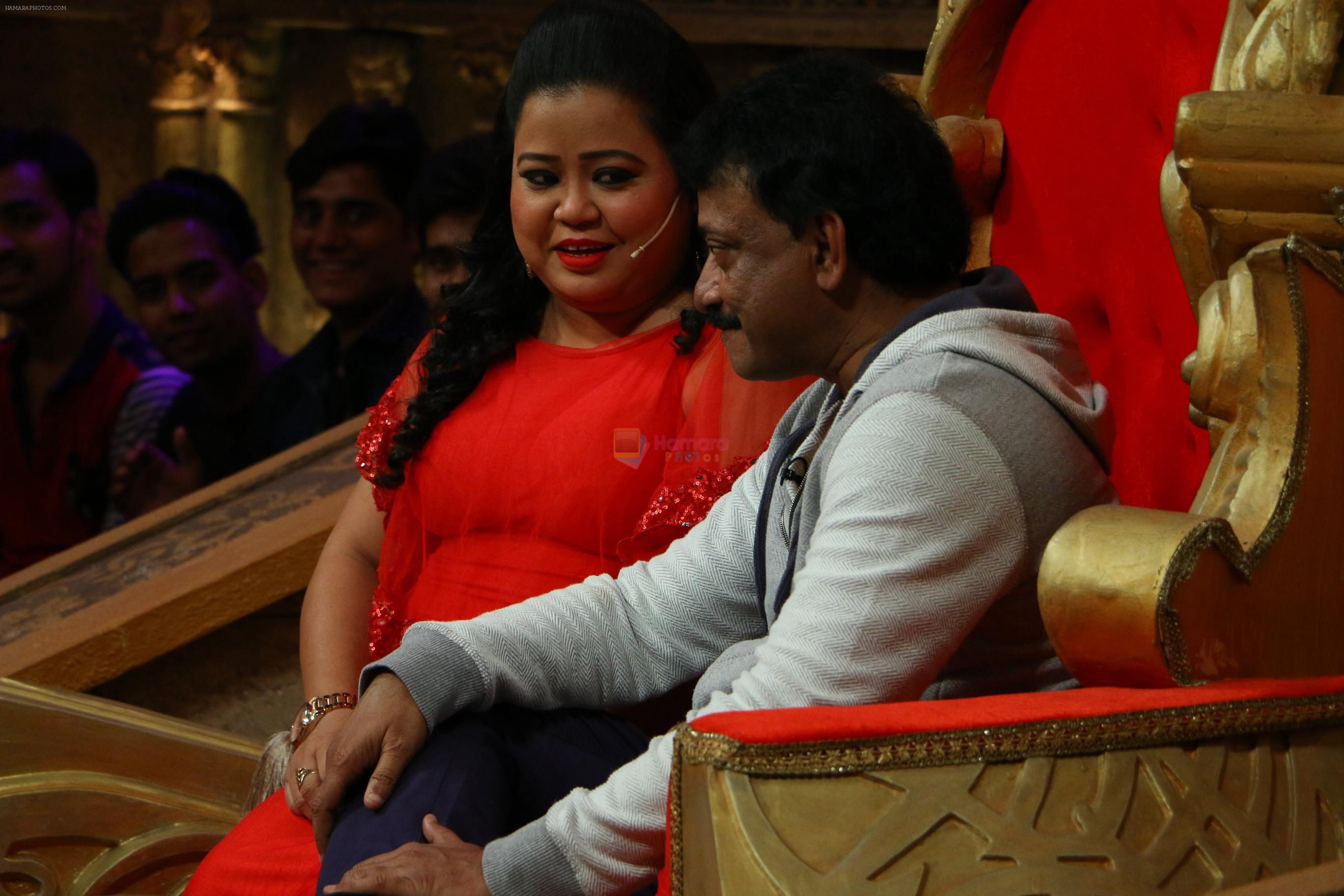 Ram Gopal Varma on the sets of Comedy Nights Bachao on 18th May 2016