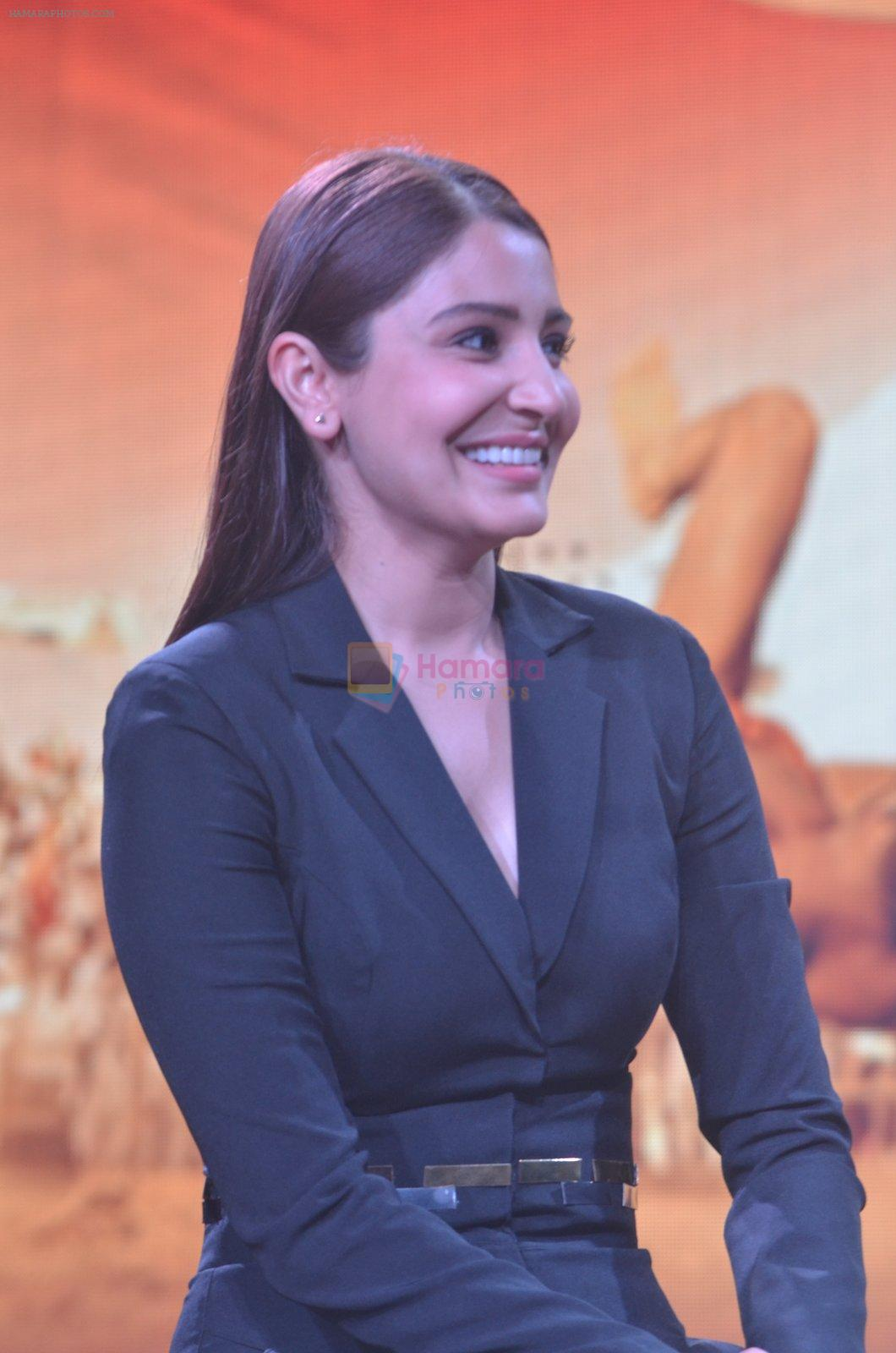 Anushka Sharma at Sultan Trailer Launch on 24th May 2016