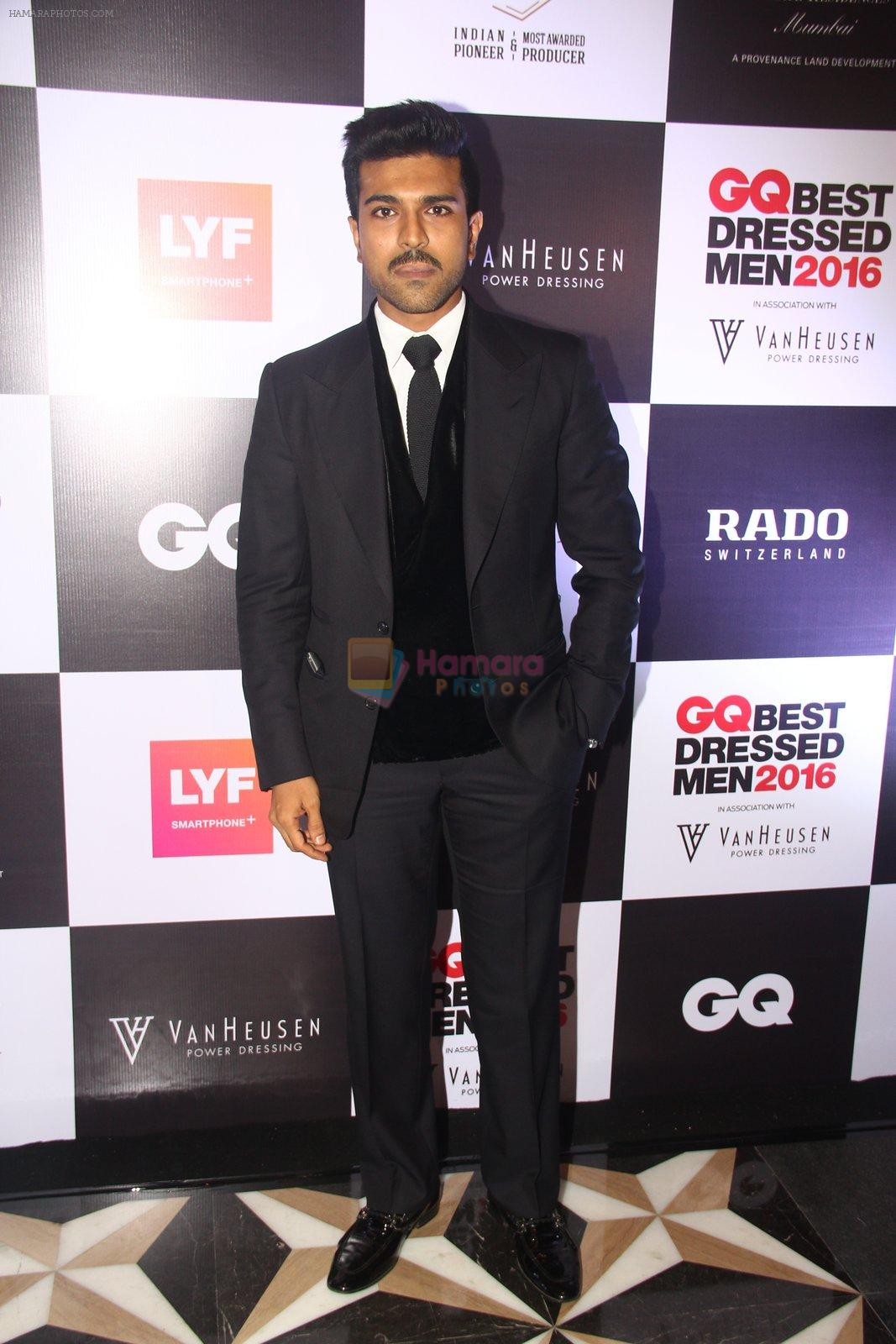Ram Charan at GQ Best Dressed Men 2016 in Mumbai on 2nd June 2016