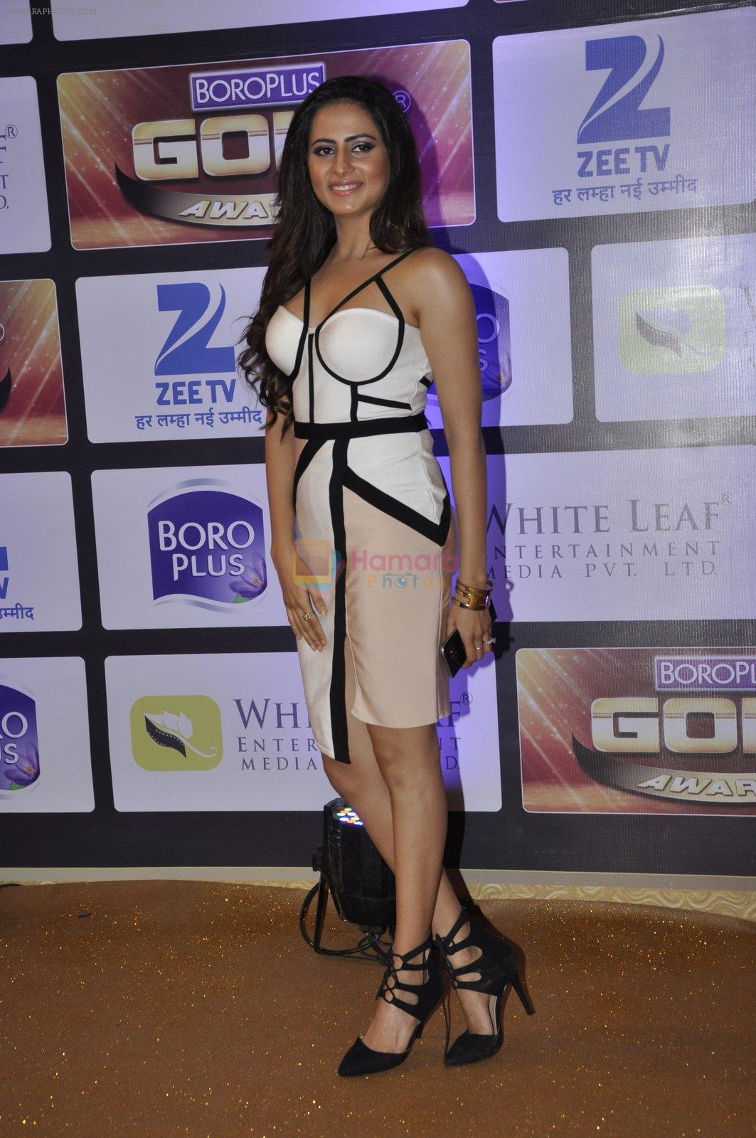Sargun Mehta at ZEE Gold Awards on 9th June 2016