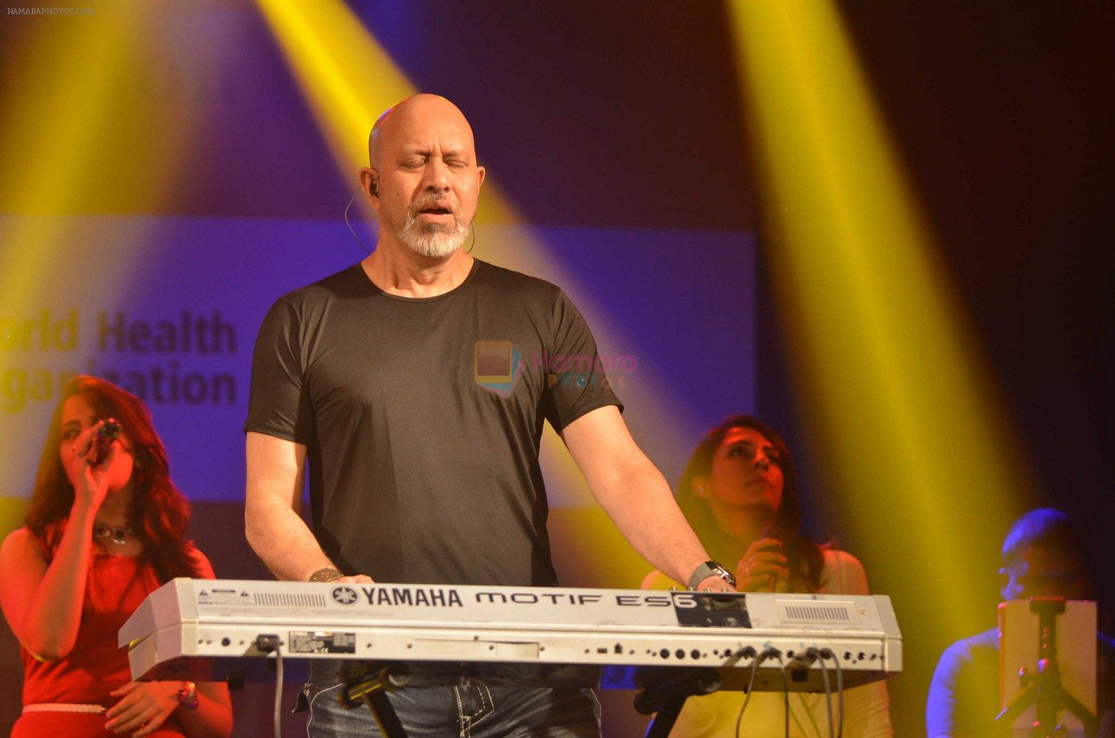 Loy Mendonsa at Shankar Ehsaan Loy concert for CPAA on 12th June 2016