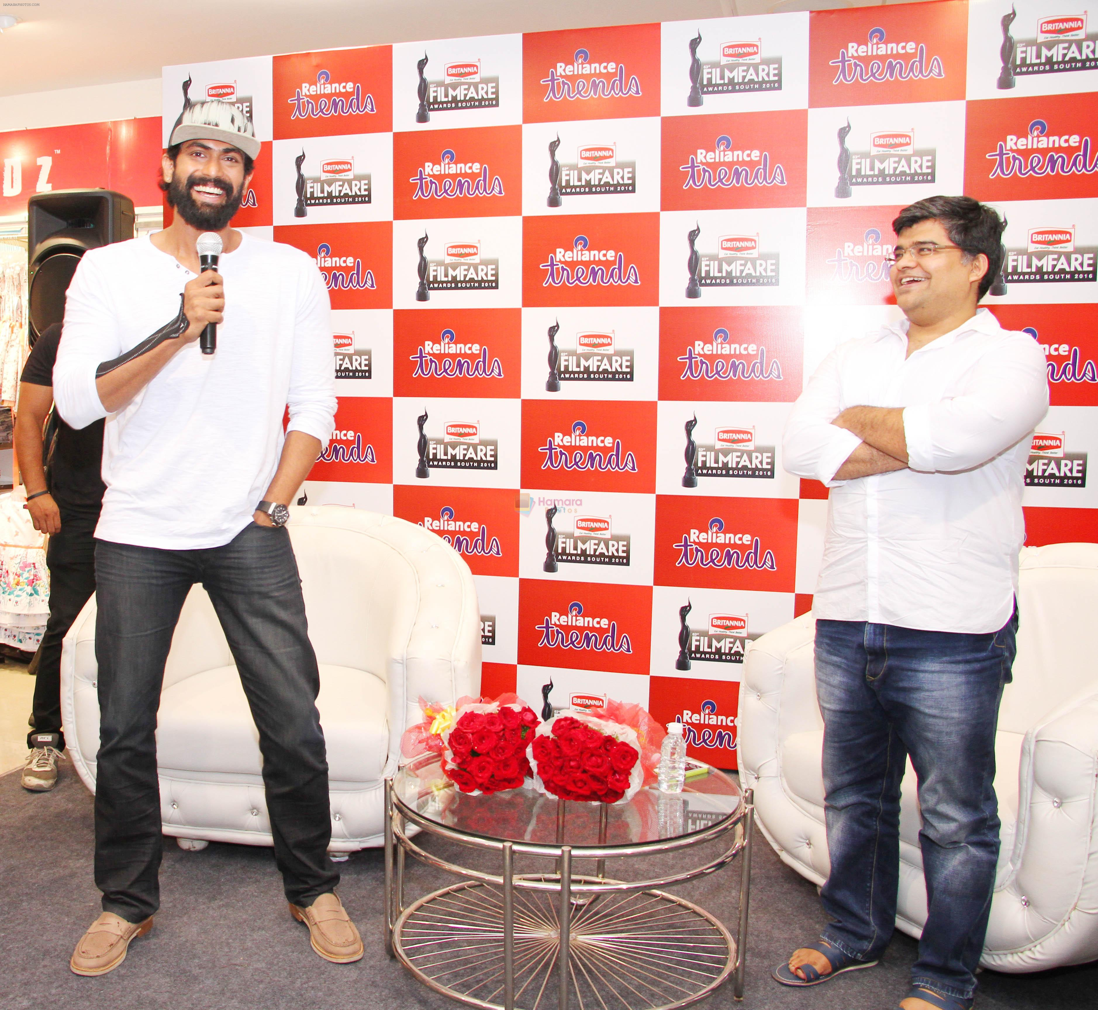 Rana Daggubati During The Meet And Greet Contest Conducted By