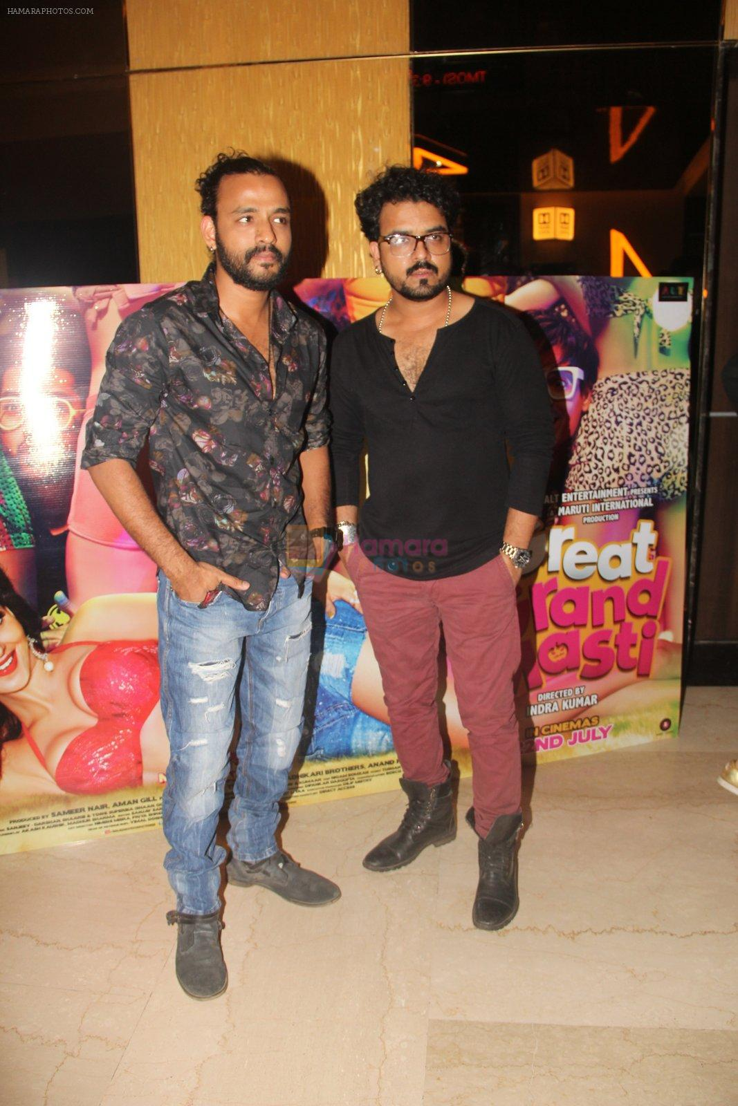 Sharib Sabri, Toshi Sabri at Great Grand Masti trailer launch on 16th June 2016