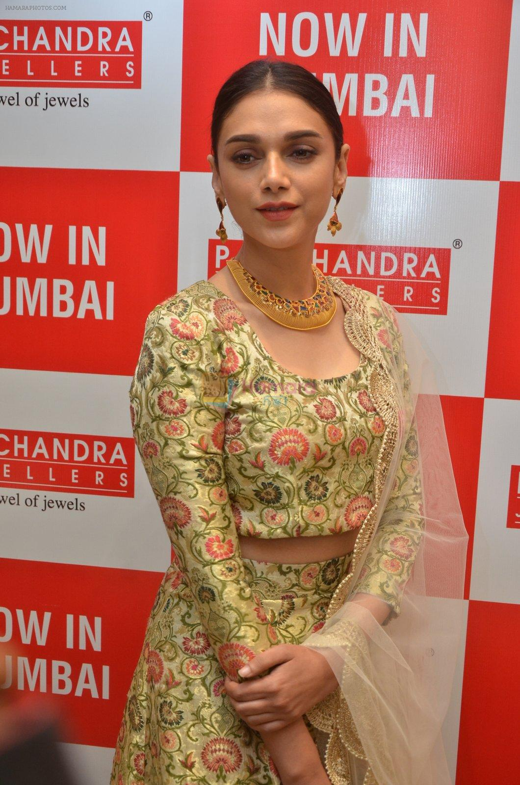 Aditi Rao Hydari in Payal Singhal at P. C. Chandra Jewellers store ...