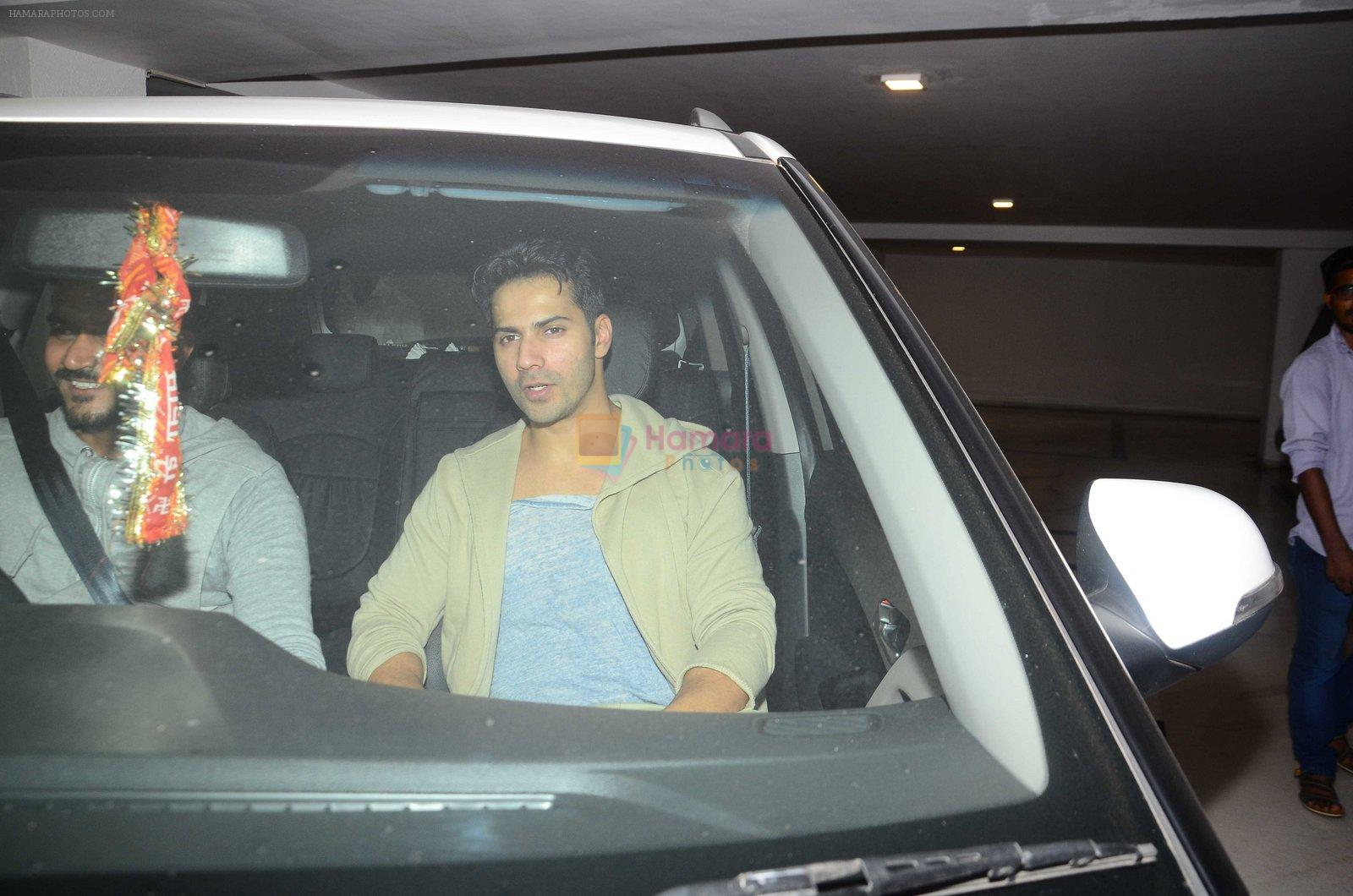 Varun Dhawan at Karan Johar's star studded bash in Mumbai on 18th June 2016