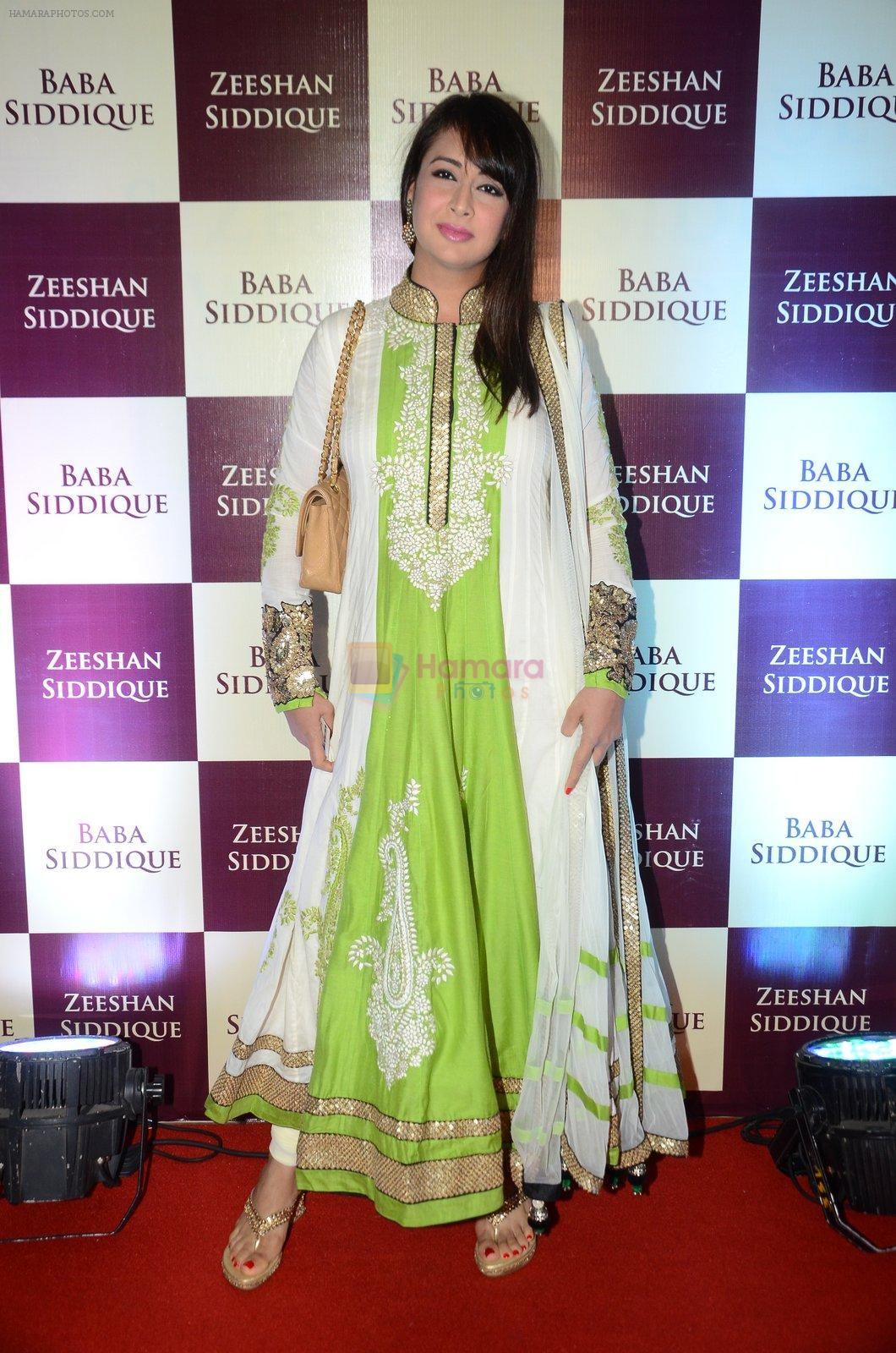 Preeti Jhangiani at Baba Siddique & Zeeshan Siddique's Iftaari celebration on 19th June 2016