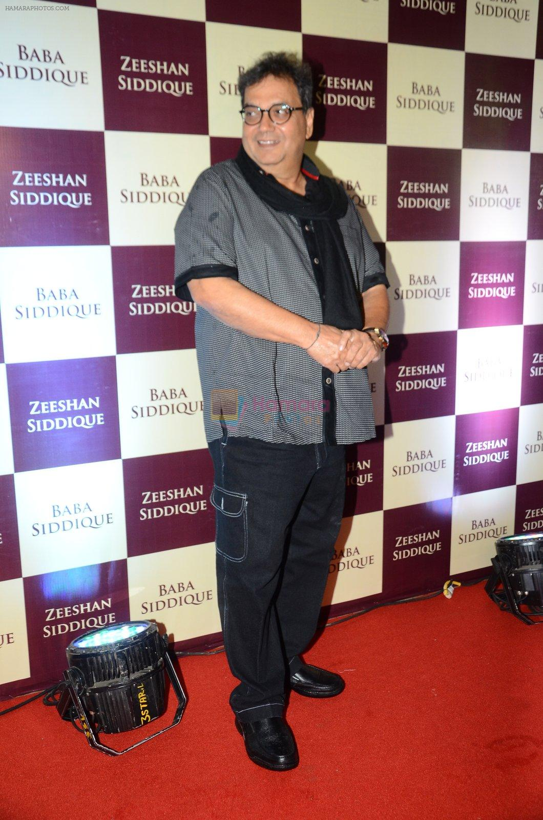 Subhash Ghai at Baba Siddique & Zeeshan Siddique's Iftaari celebration on 19th June 2016