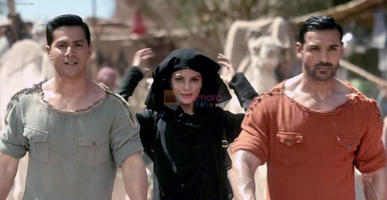 Jacqueline Fernandez John Abraham Varun Dhawan In Dishoom Movie