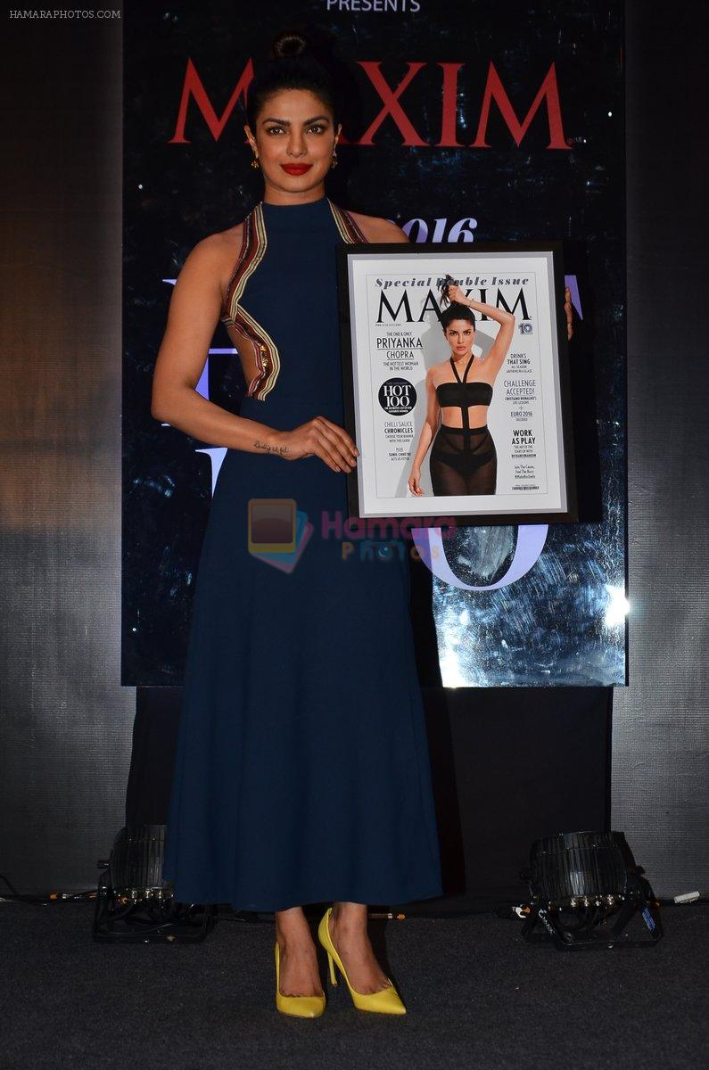 Priyanka Chopra Graces The Launch Of Maxim India Cover On 30th June