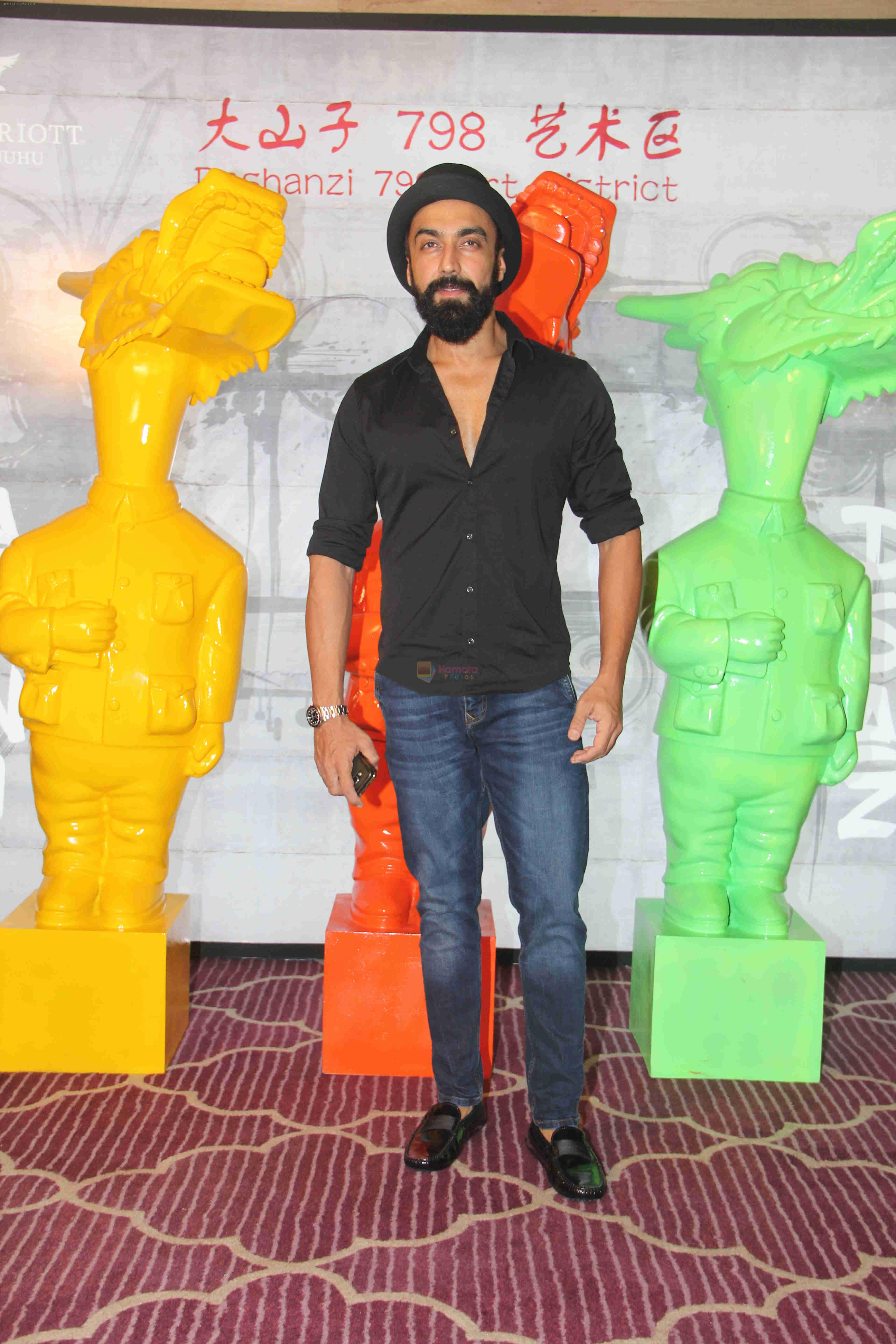 Aashish Chaudhary at Krishika Lulla's party in the new Asian Restaurant Dashanzi, J W Marriott, juhu on 2nd July 2016