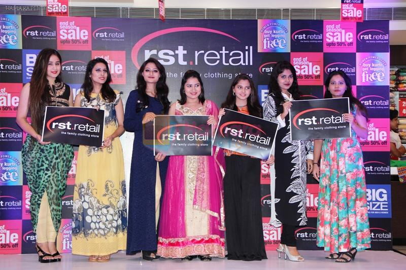 Ananya at the launch of designer collection for families & Exclusive Offers at RST-Retail in Tirmulgherry, Secunderabad on 17th July 2016