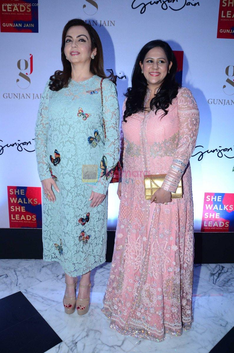 Nita Ambani at the launch of Gunjan Jain's Book She Walks She Leads on 21st July 2016