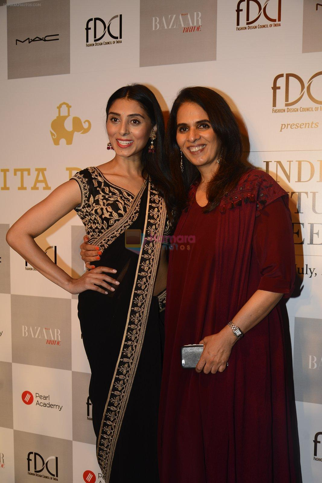 Anita Dongre show at the FDCI India Couture Week 2016 on 21st July 2016