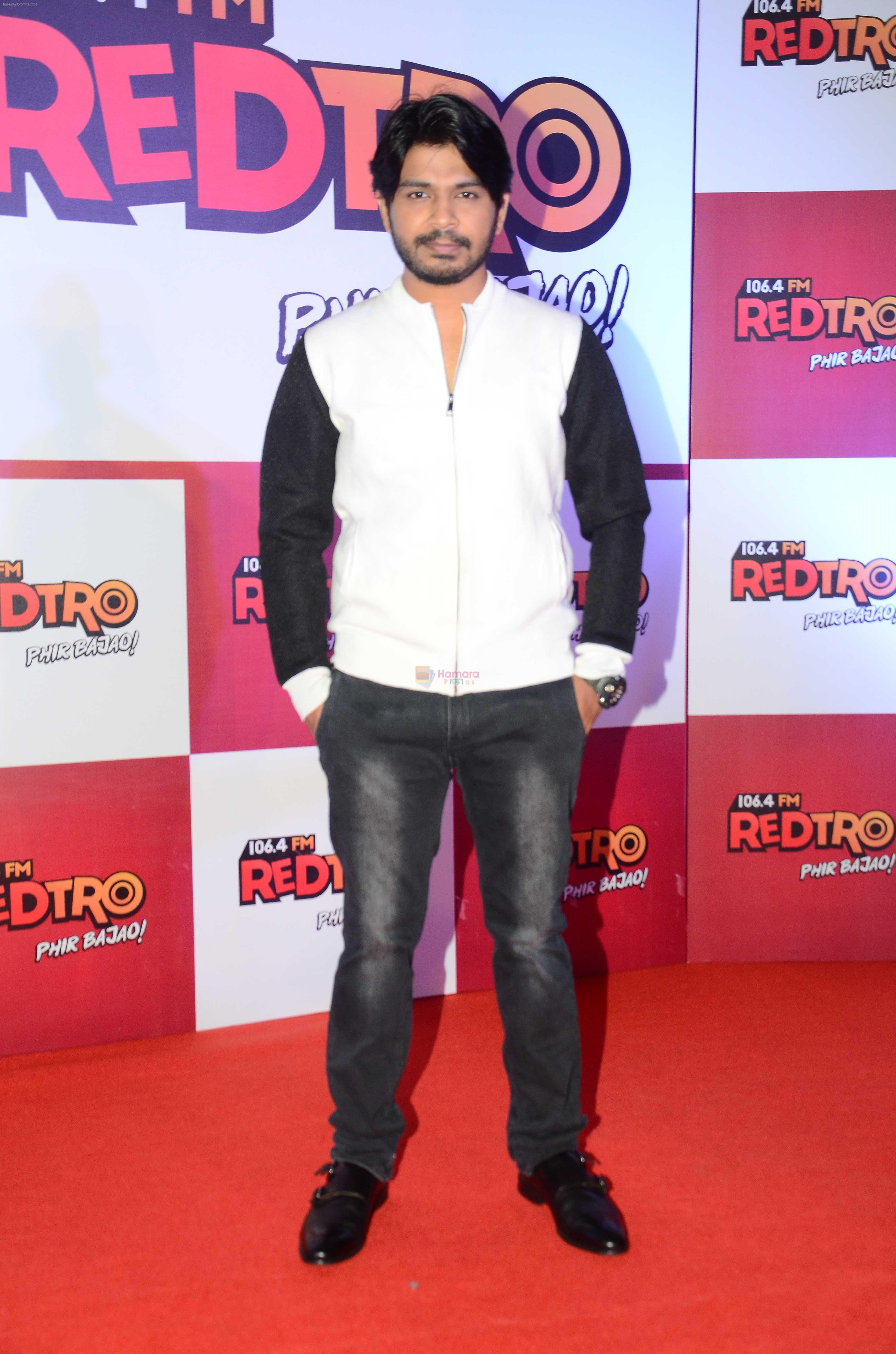 Ankit Tiwari during the party organised by Red FM to celebrate the launch of its new radio station Redtro 106.4 in Mumbai India on 22 July 2016