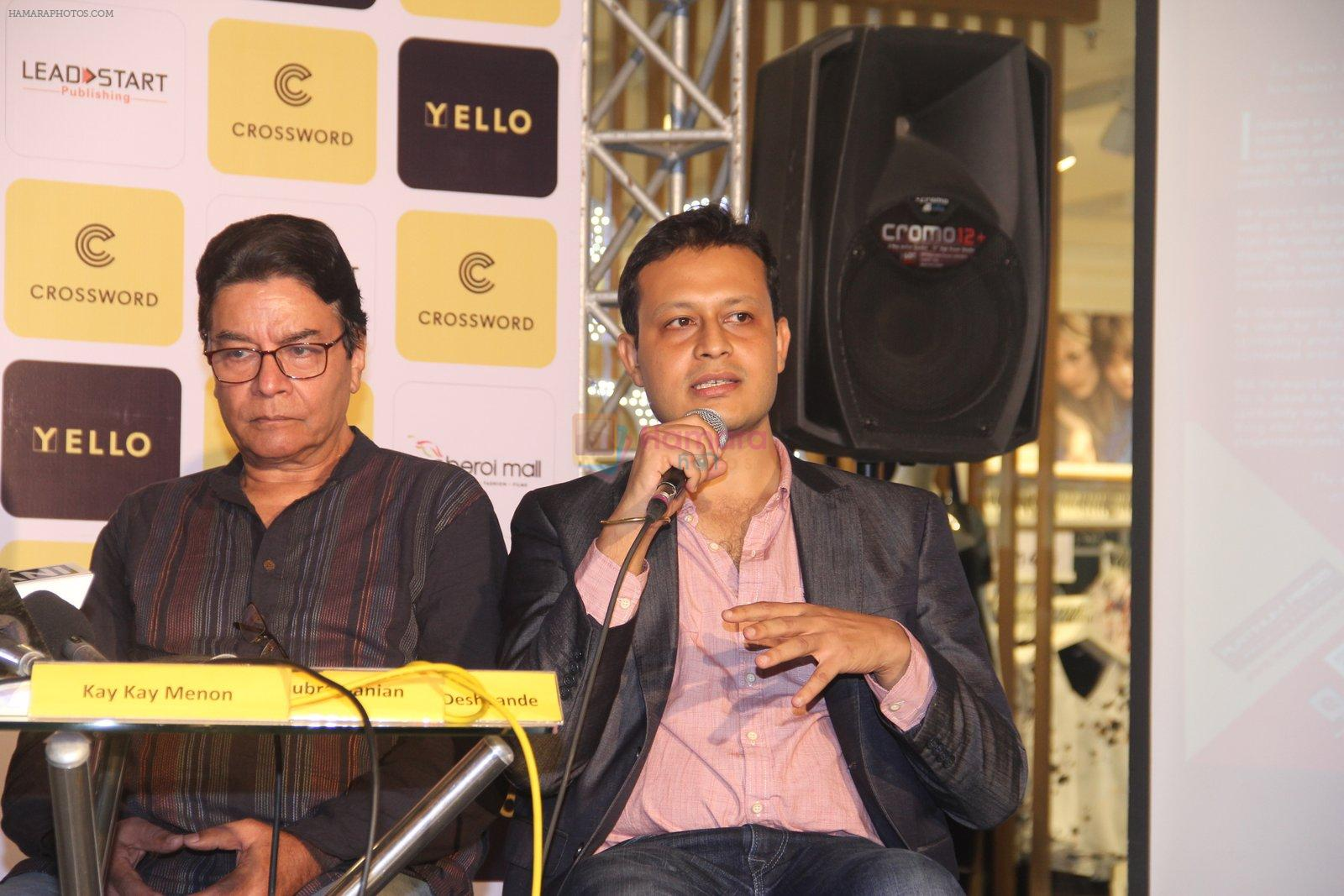 Ashutosh Gowariker, Kay Kay Menon at Raj Supe book launch in Mumbai on 27th July 2016