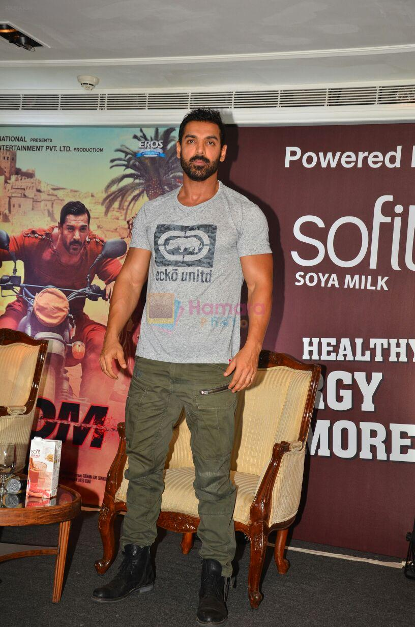 John Abraham at sofit promotions in Mumbai on 28th July 2016