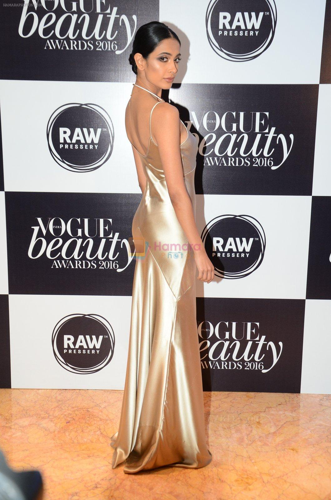 Sarah Jane Dias at Vogue Beauty Awards 2016 on 27th July 2016