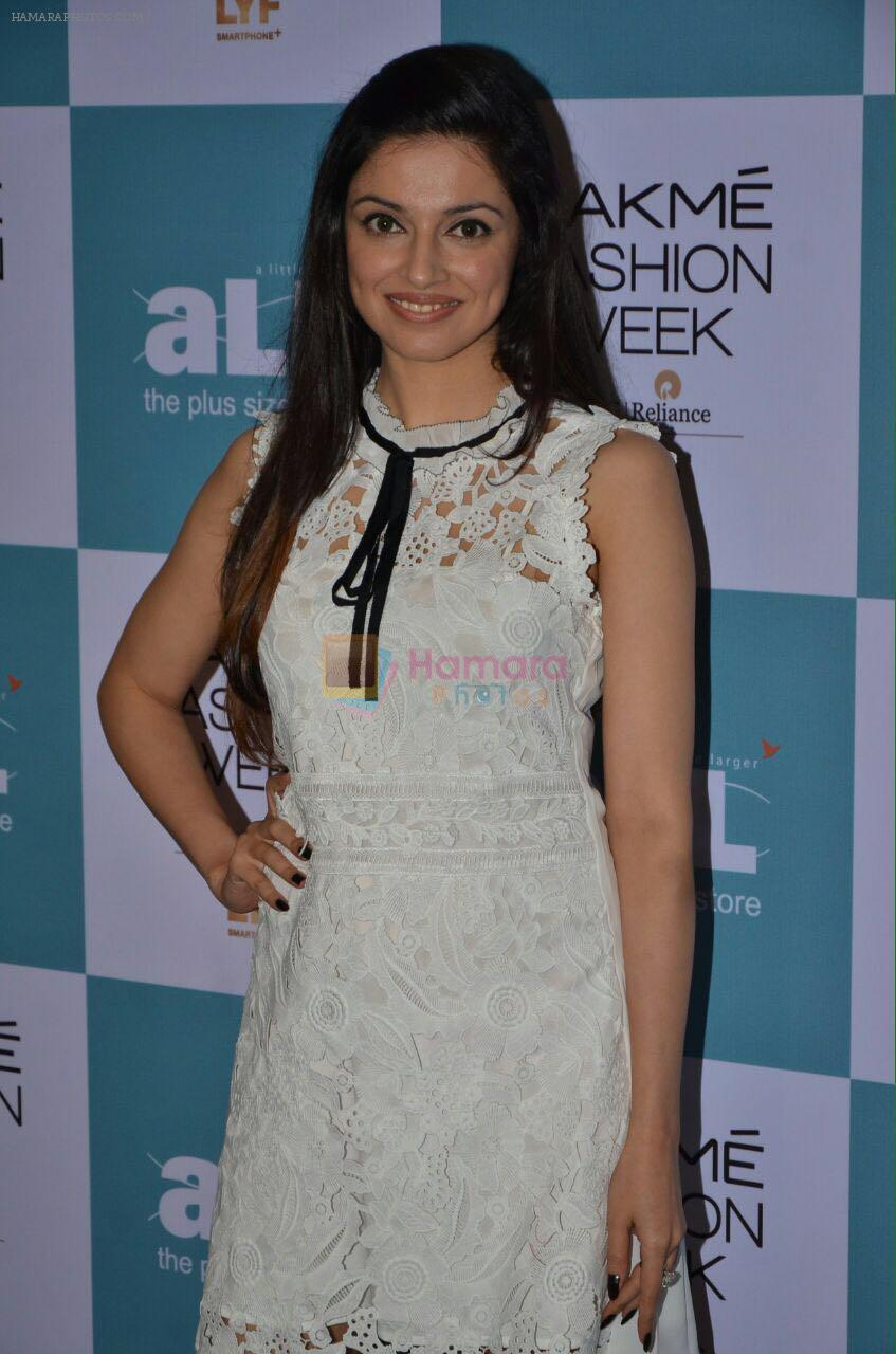 Divya Khosla Kumar at Lakme all size fashion show auditions on 29th July 2016