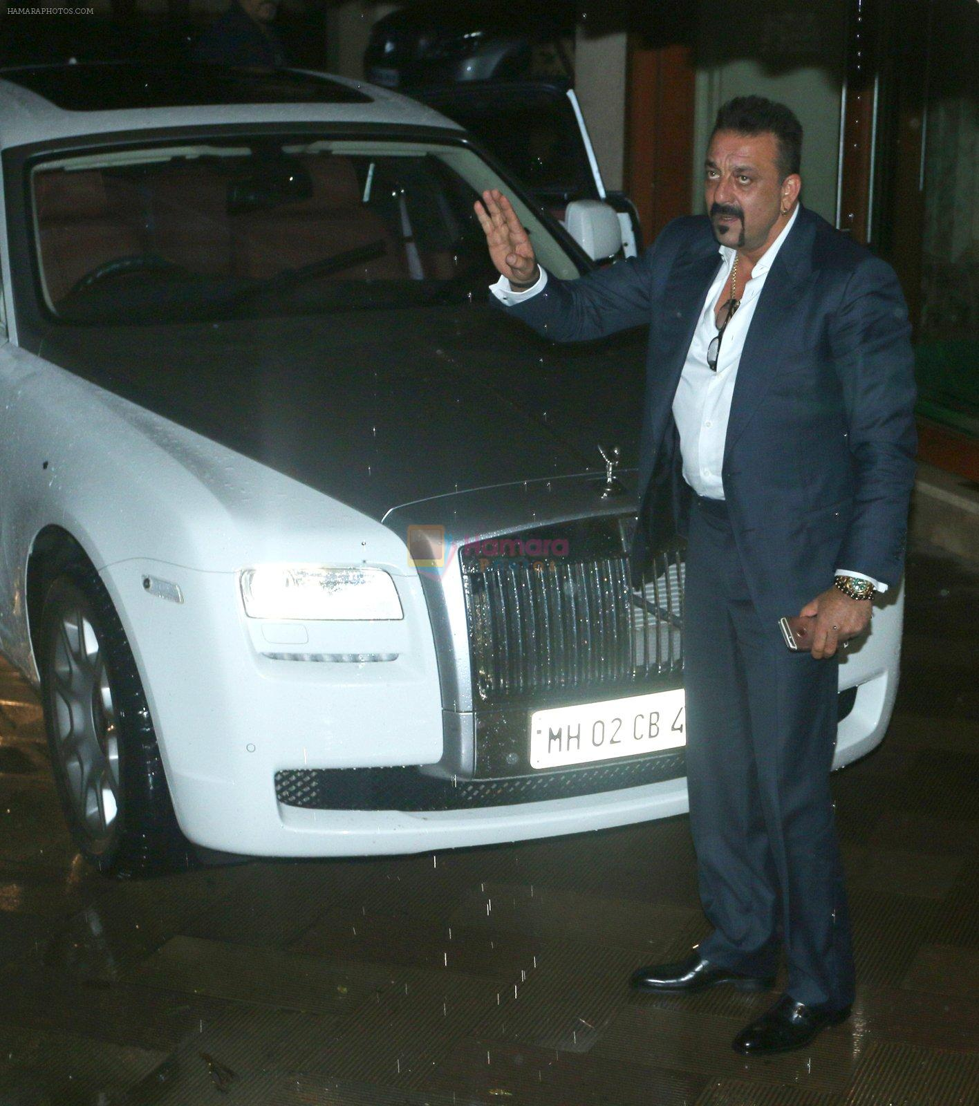 Sanjay Dutt on eve of his bday on 28th July 2016