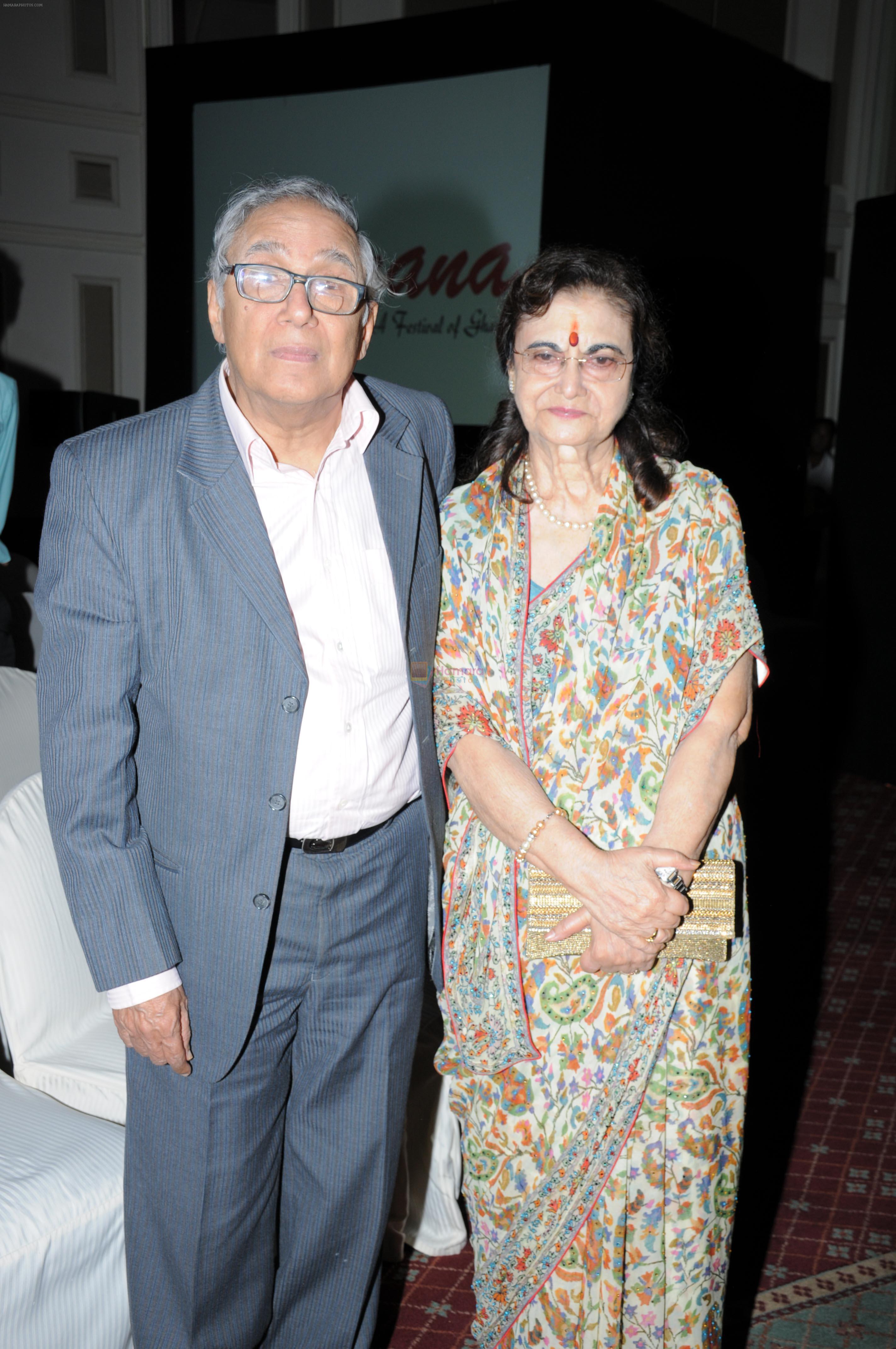 Y. Sapru and Rekha Sapru at Ghazal Festival in Mumbai on 30th July 2016