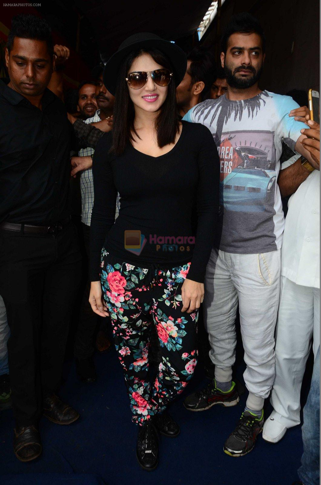 Sunny Leone at mahuratof Tera Intezaar movie on 29th July 2016