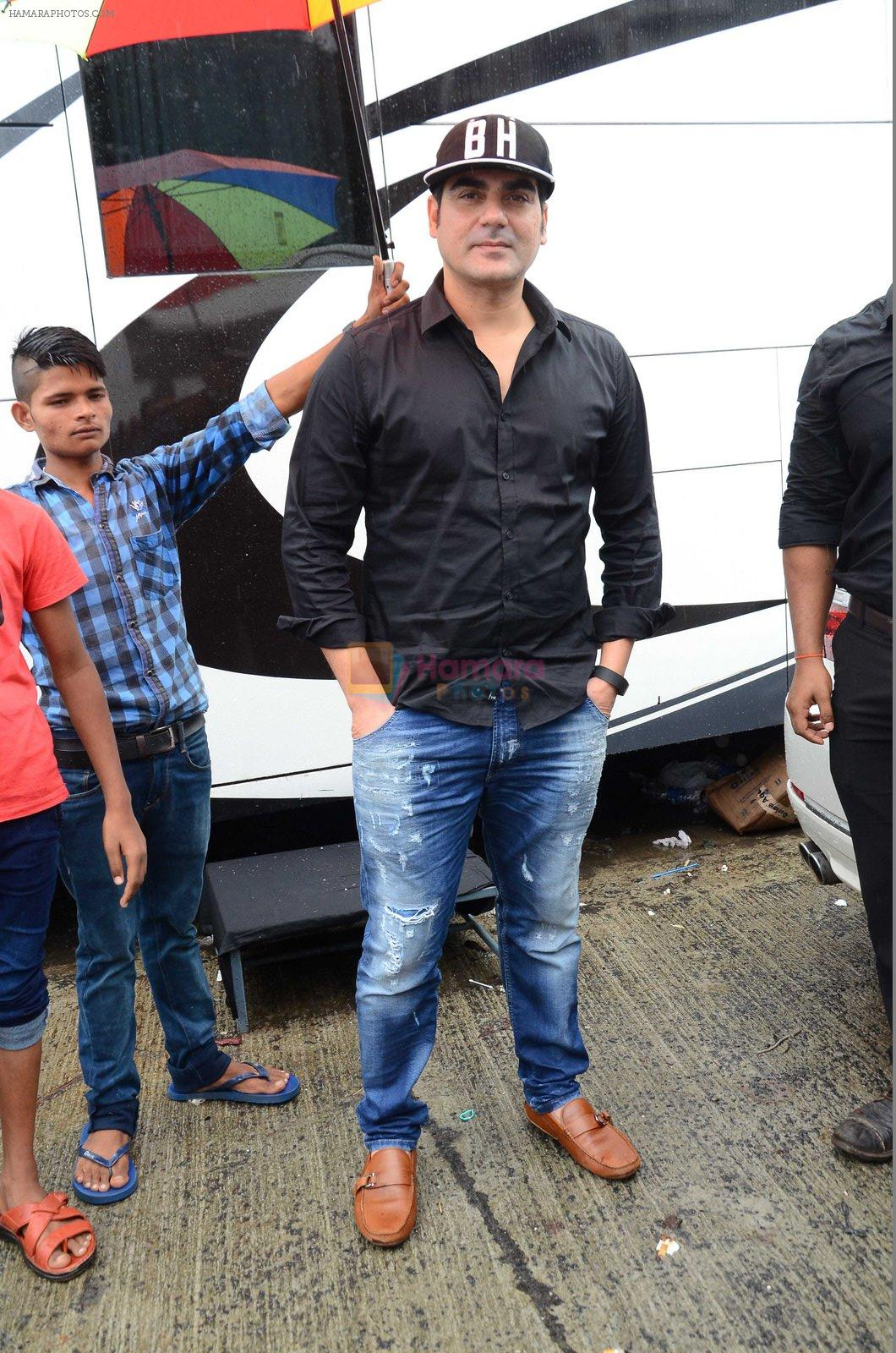 Arbaaz Khan at mahuratof Tera Intezaar movie on 29th July 2016