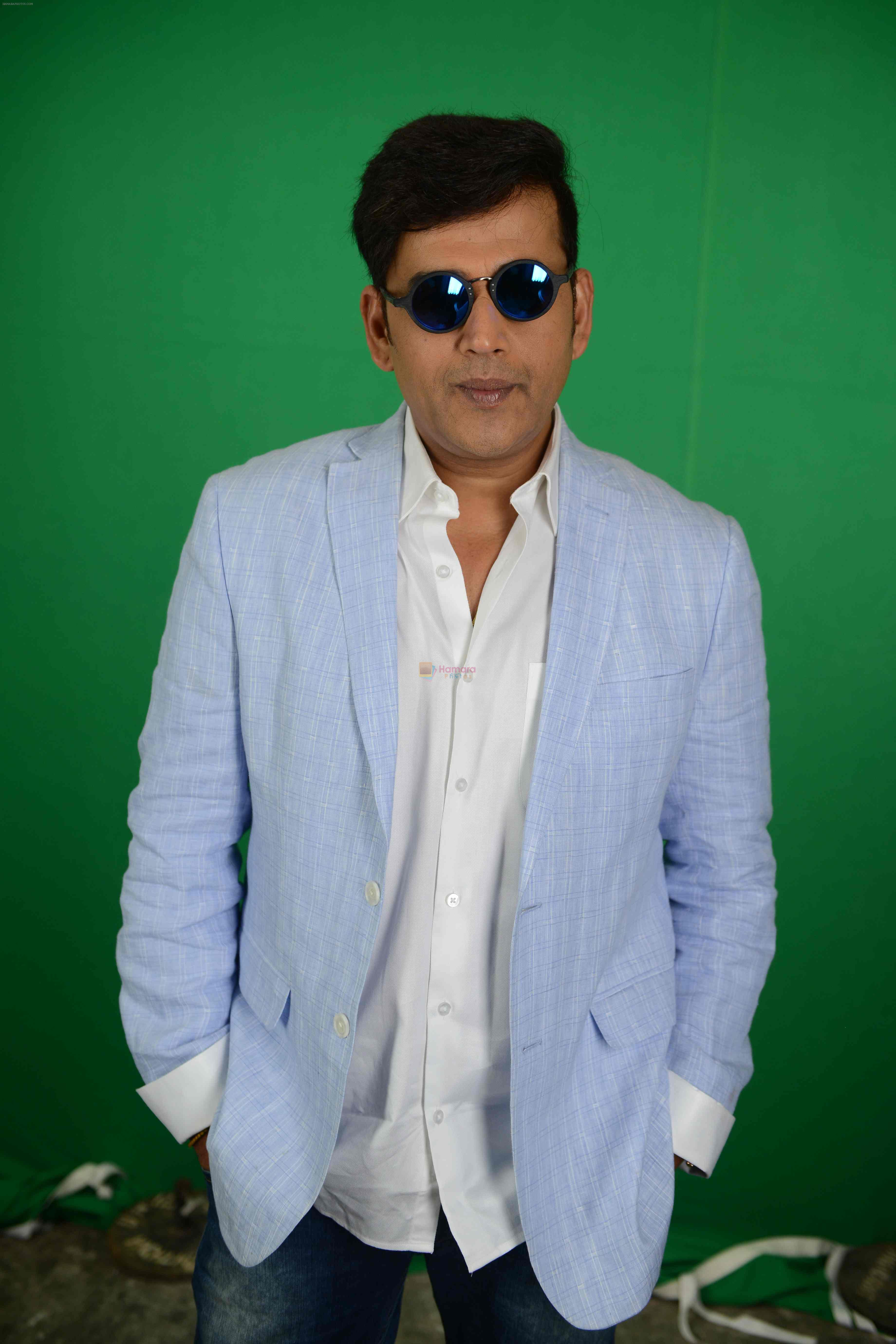 Ravi Kishan during the Press confrence of Luv Kush biggest Ram Leela at Constitutional Club, Rafi Marg in New Delhi on 31st July 2016