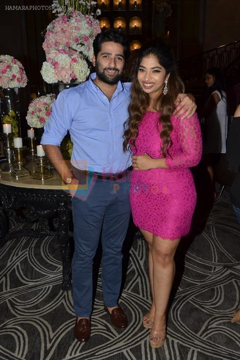 Dhimaan Shah with Anandita De at The Drawing Room in St Regis Mumbai on 30th July 2016