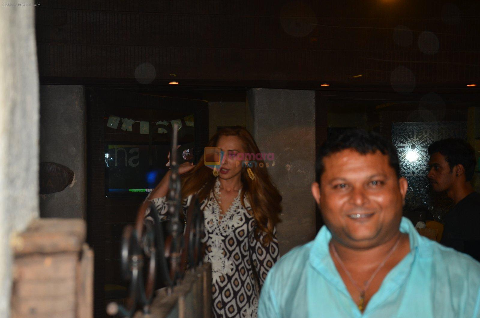 Lulia Vantur snapped in Mumbai on 31st July 2016