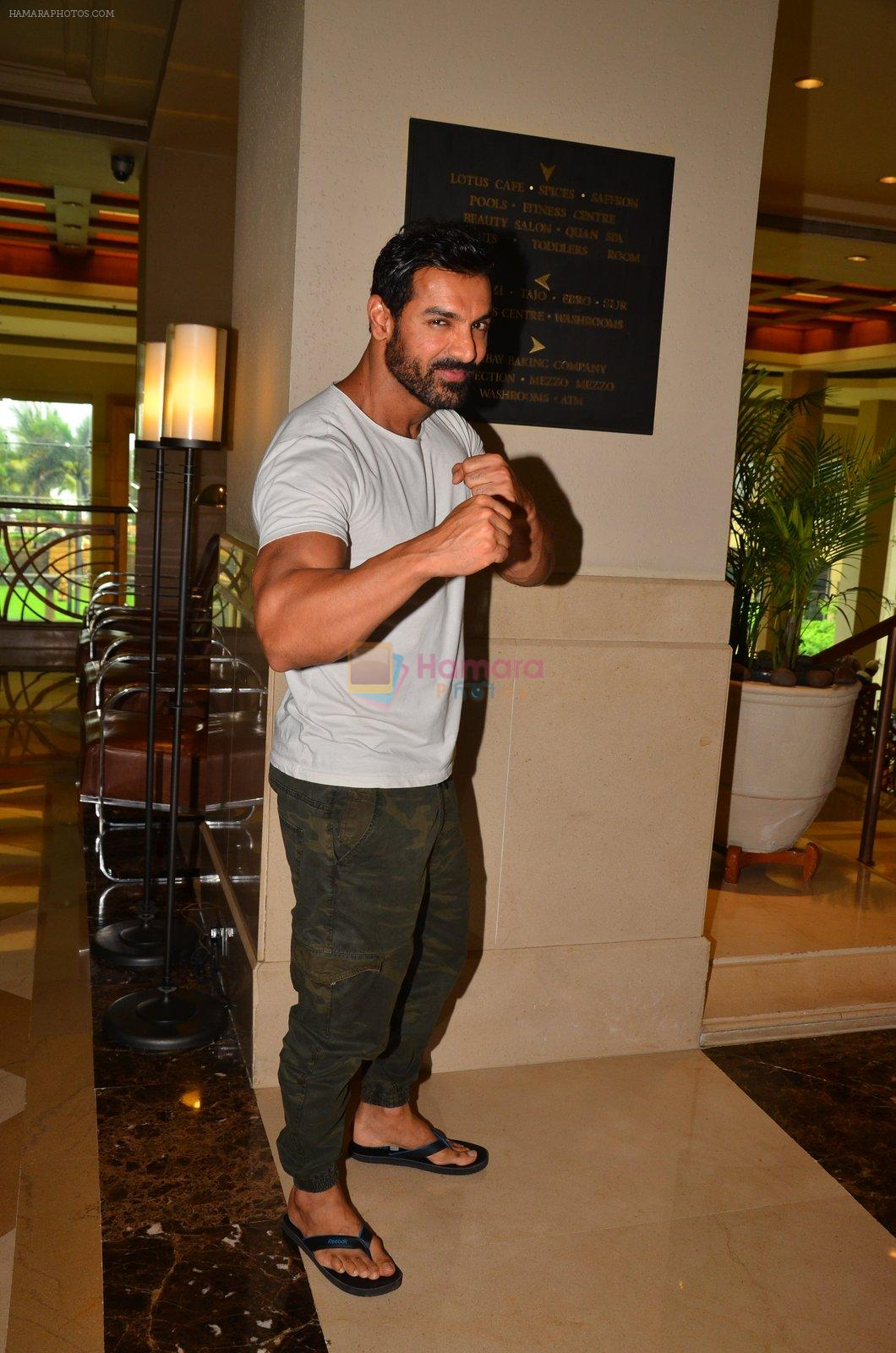 John Abraham promote Dishoom on 1st Aug 2016