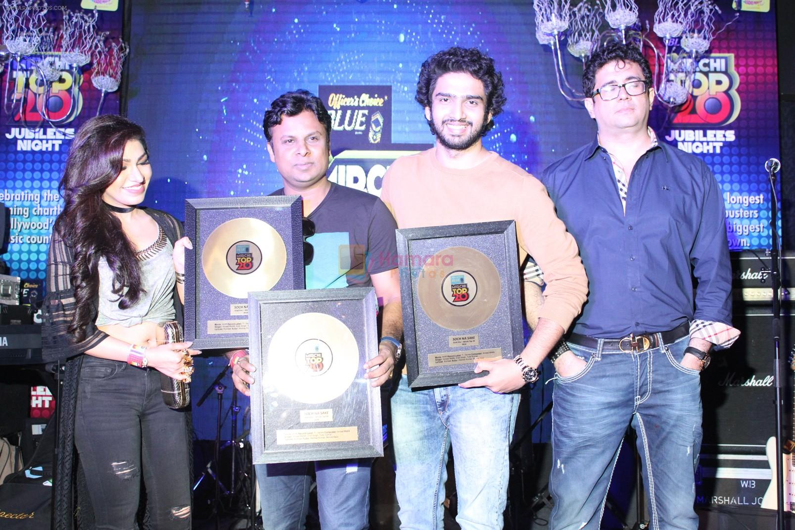 Amaal Mallik at the Officer's Choice Blue Mirchi Top 20 charts of 2016 on 1st Aug 2016