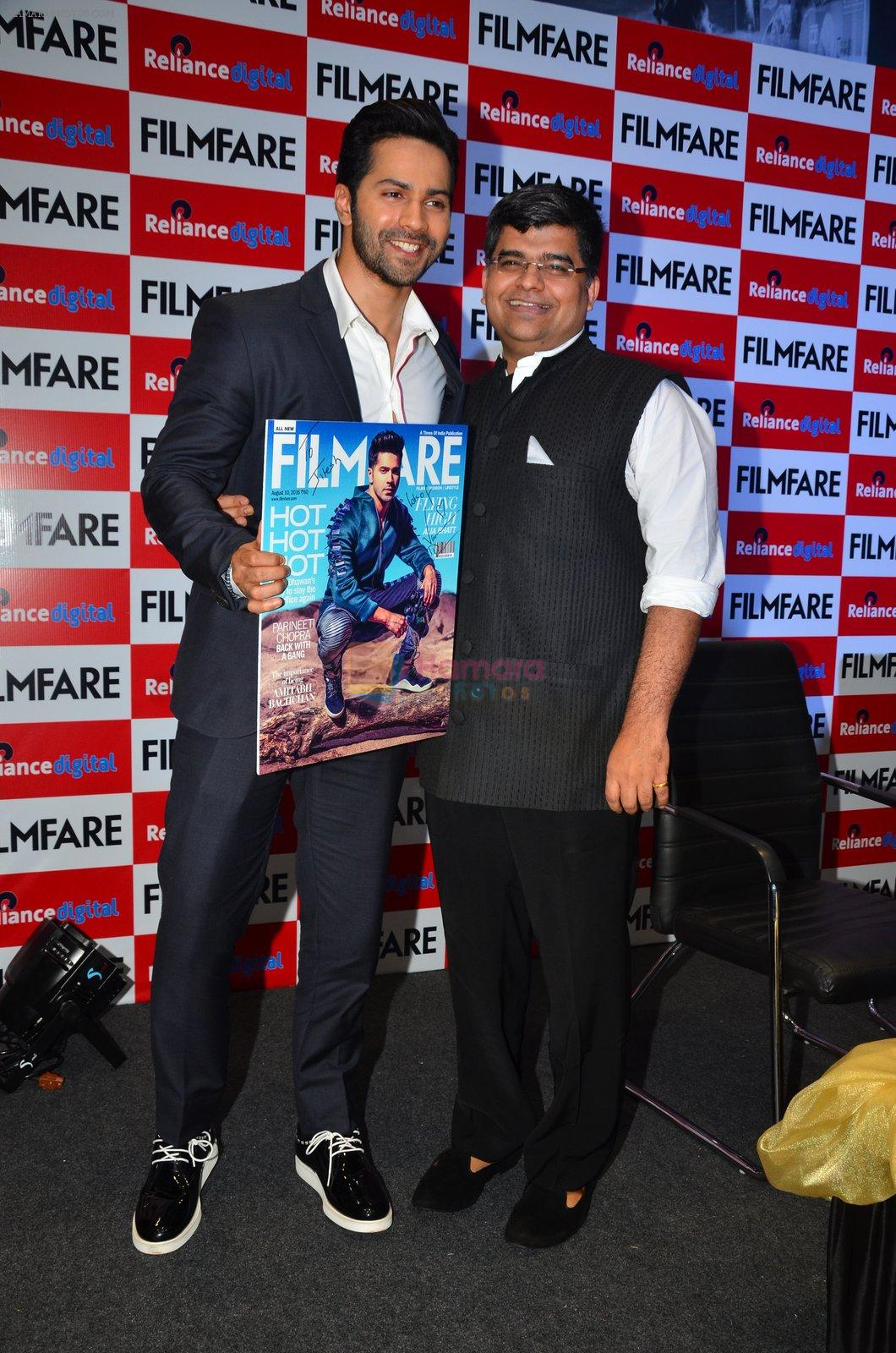 Varun Dhawan at filmfare cover launch on 1st Aug 2016