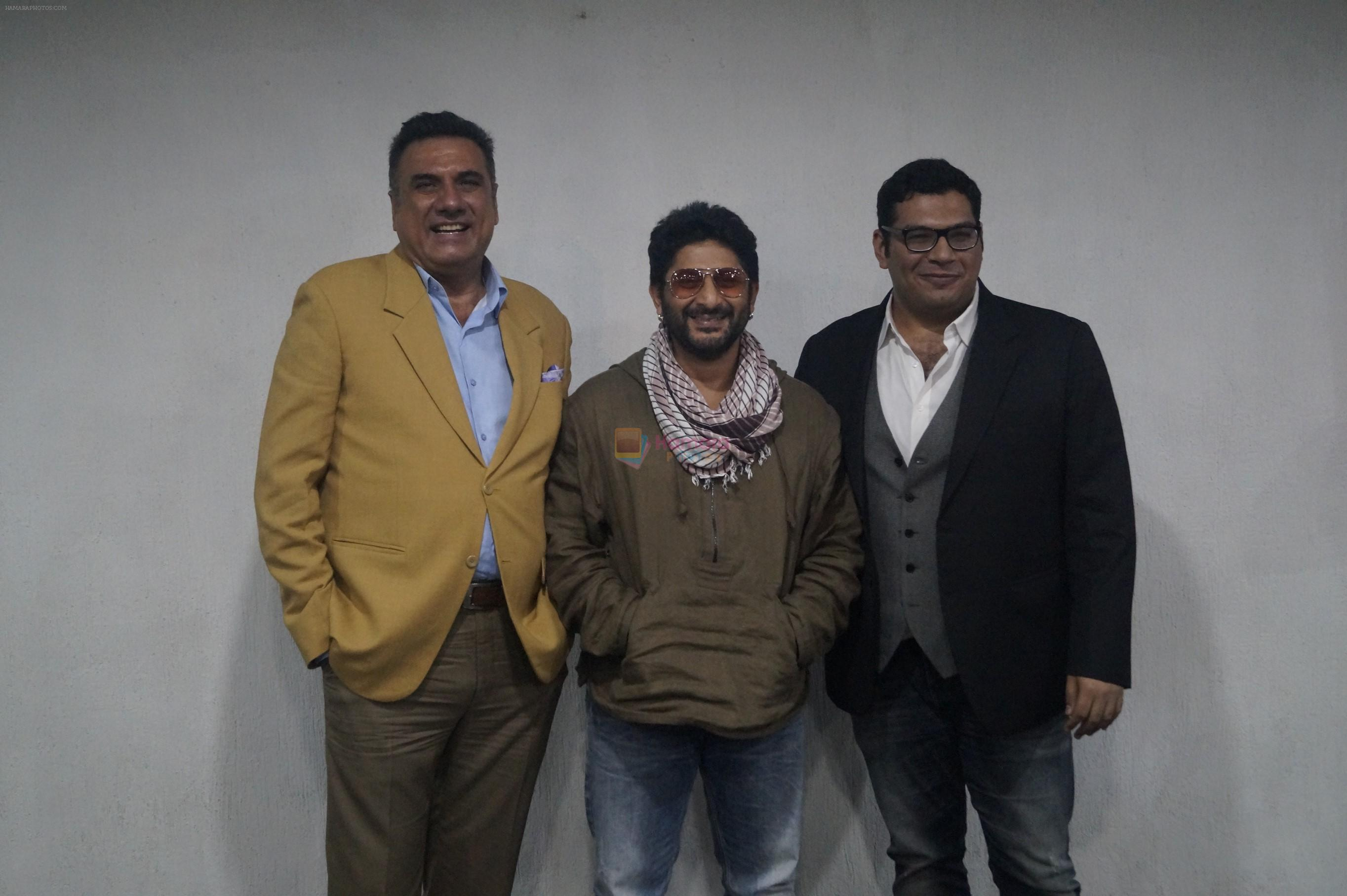 BOMAN IRANI, ARSHAD WARSI, KAYOZE IRANI promote The Legend Of Michael Mishra movie in Wave Cinemas, Noida on 1st Aug 2016