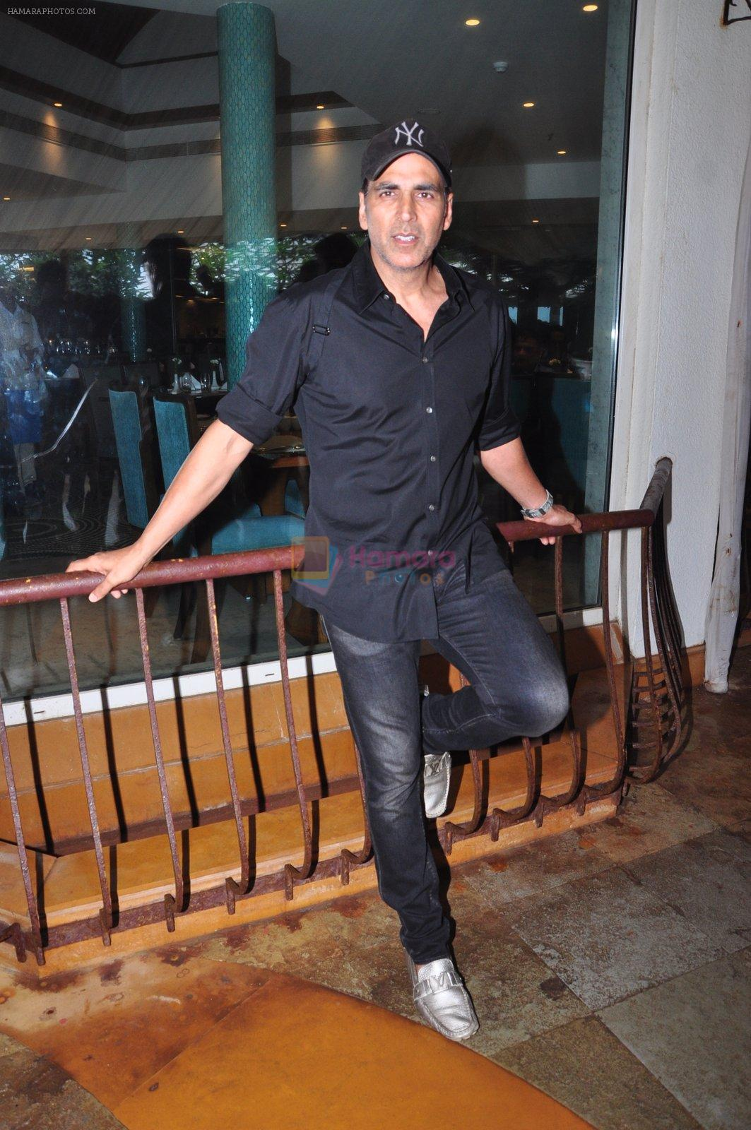 Akshay Kumar at Rustom promotions in Mumbai on 1st Aug 2016