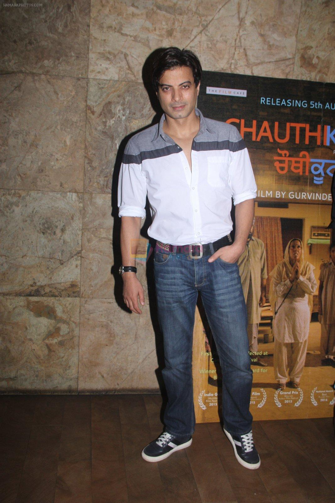 Rahul Bhat at Chauthi Koot film screening on 1st Aug 2016