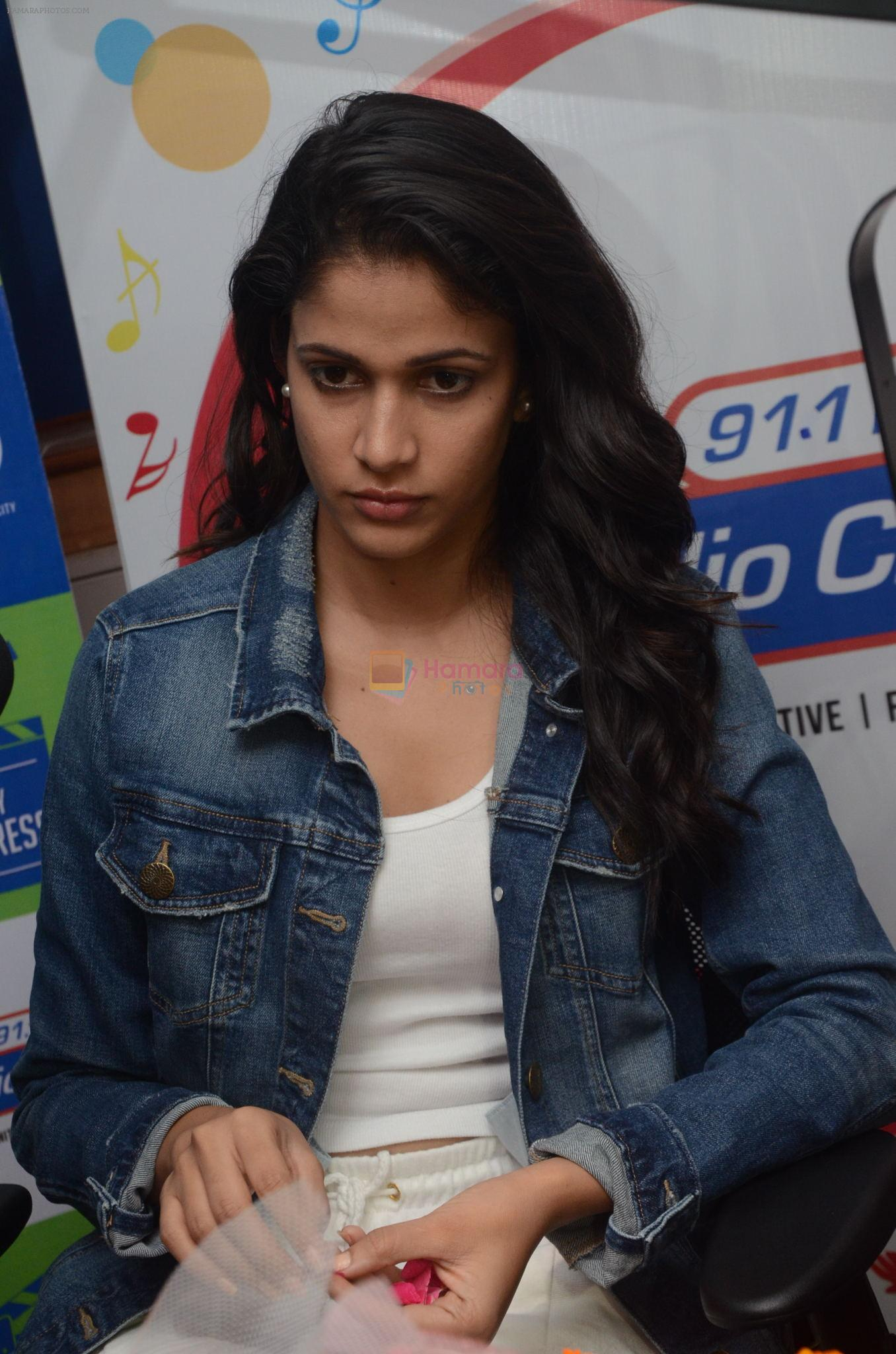 Lavanya Tripathi during the promotion of Telugu movie Srirastu Subhamastu at Radio City on 2nd August 2016