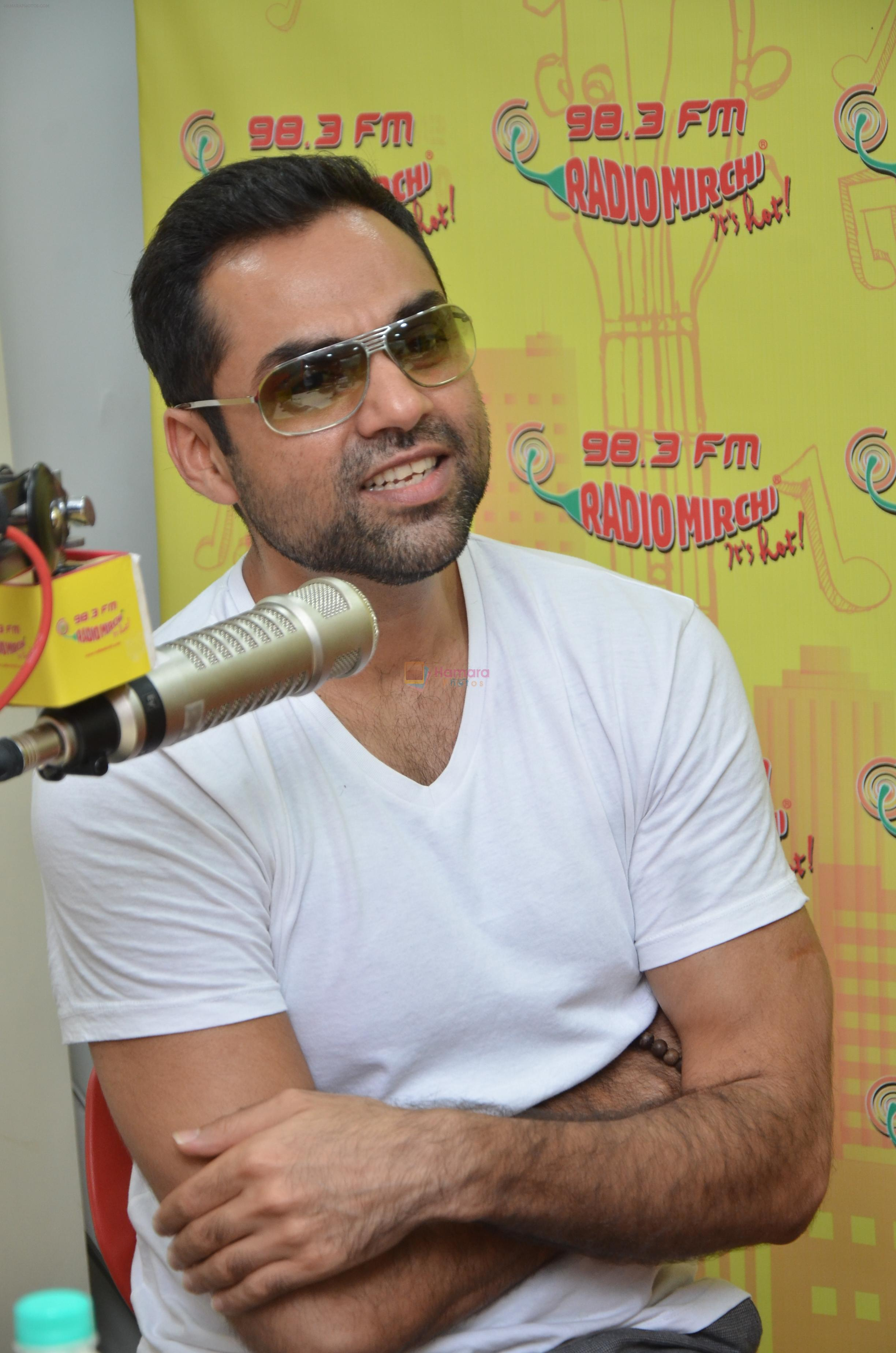 Abhay Deol at Radio Mirchi studio to promote their upcoming film Happy Bhag Jayegi on August 2nd 2016