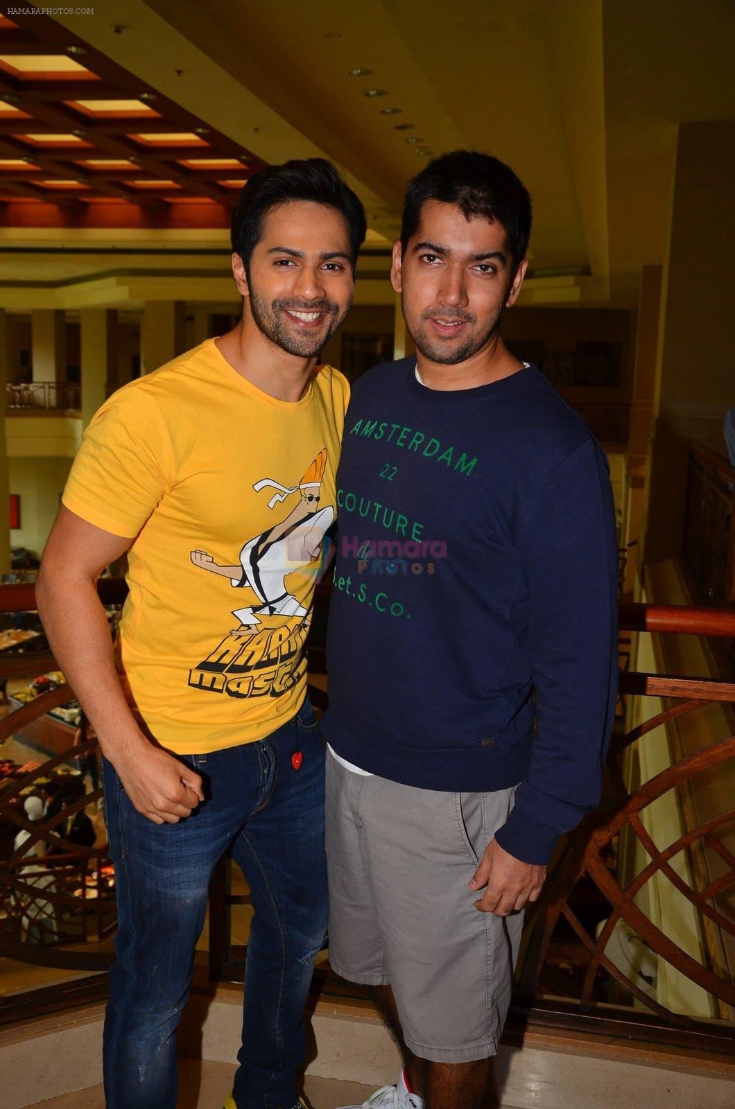 Varun Dhawan promote Dishoom on 1st Aug 2016