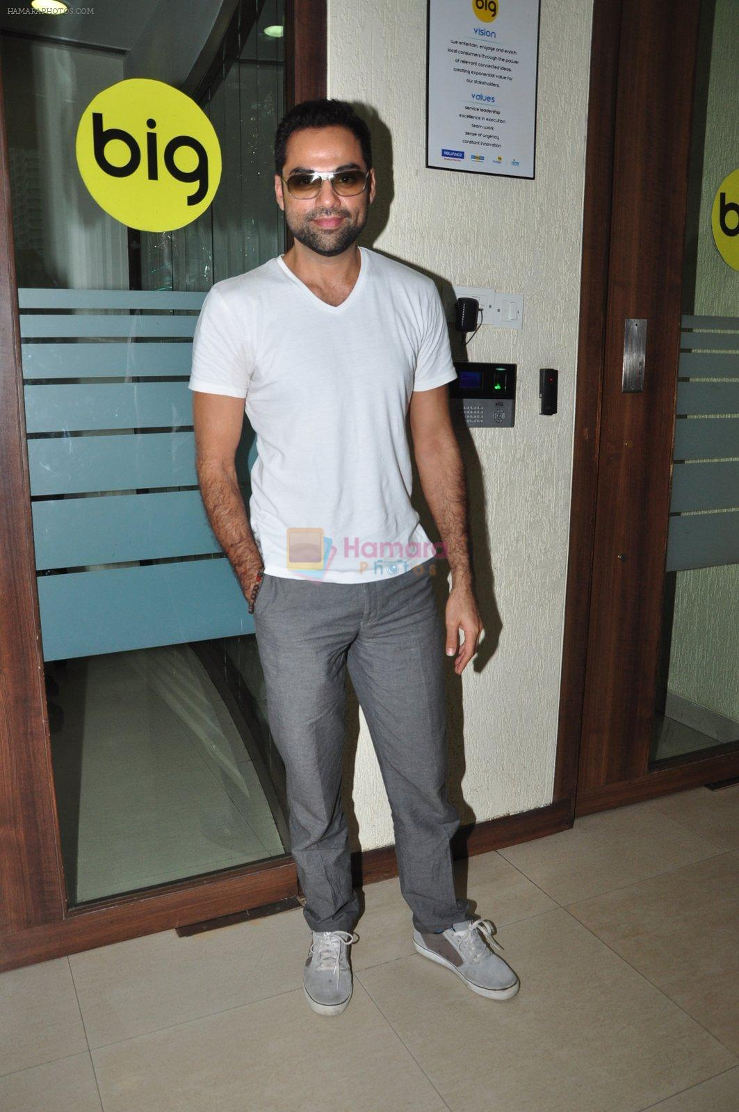 Abhay Deol at Big FM on 1st Aug 2016