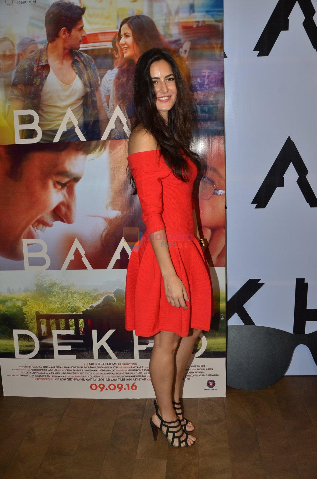 Katrina Kaif promote film Baar Baar Dekho on August 2nd 2016