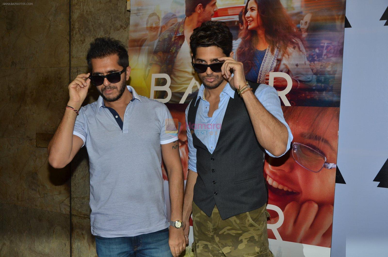 Sidharth Malhotra, Ritesh Sidhwani promote film Baar Baar Dekho on August 2nd 2016